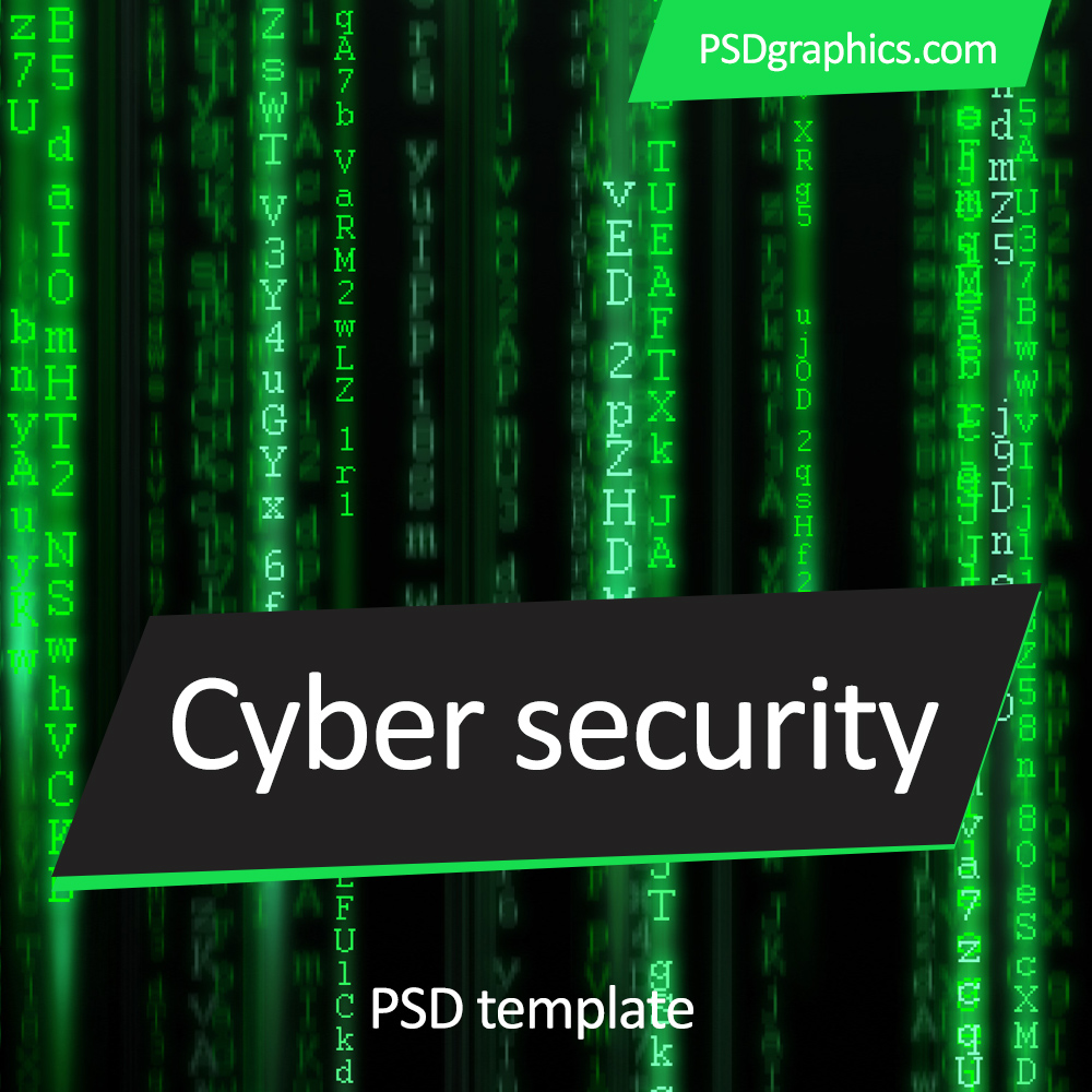Cyber Security Templates Psd Psdgraphics