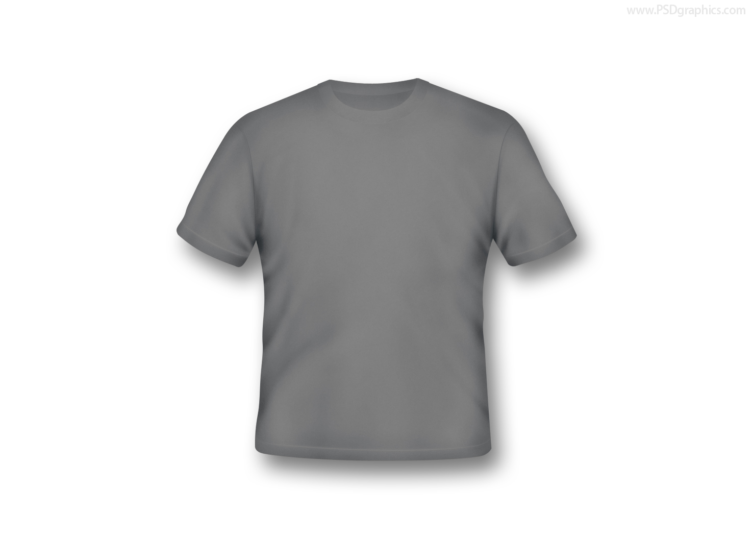 Blank t-shirts in various colors | PSDGraphics
