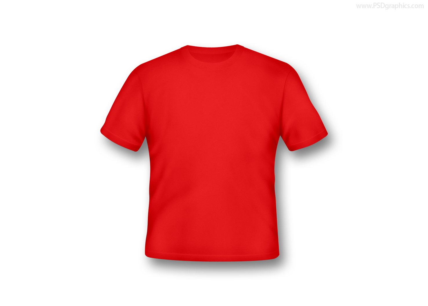 blank tshirts in various colors psdgraphics