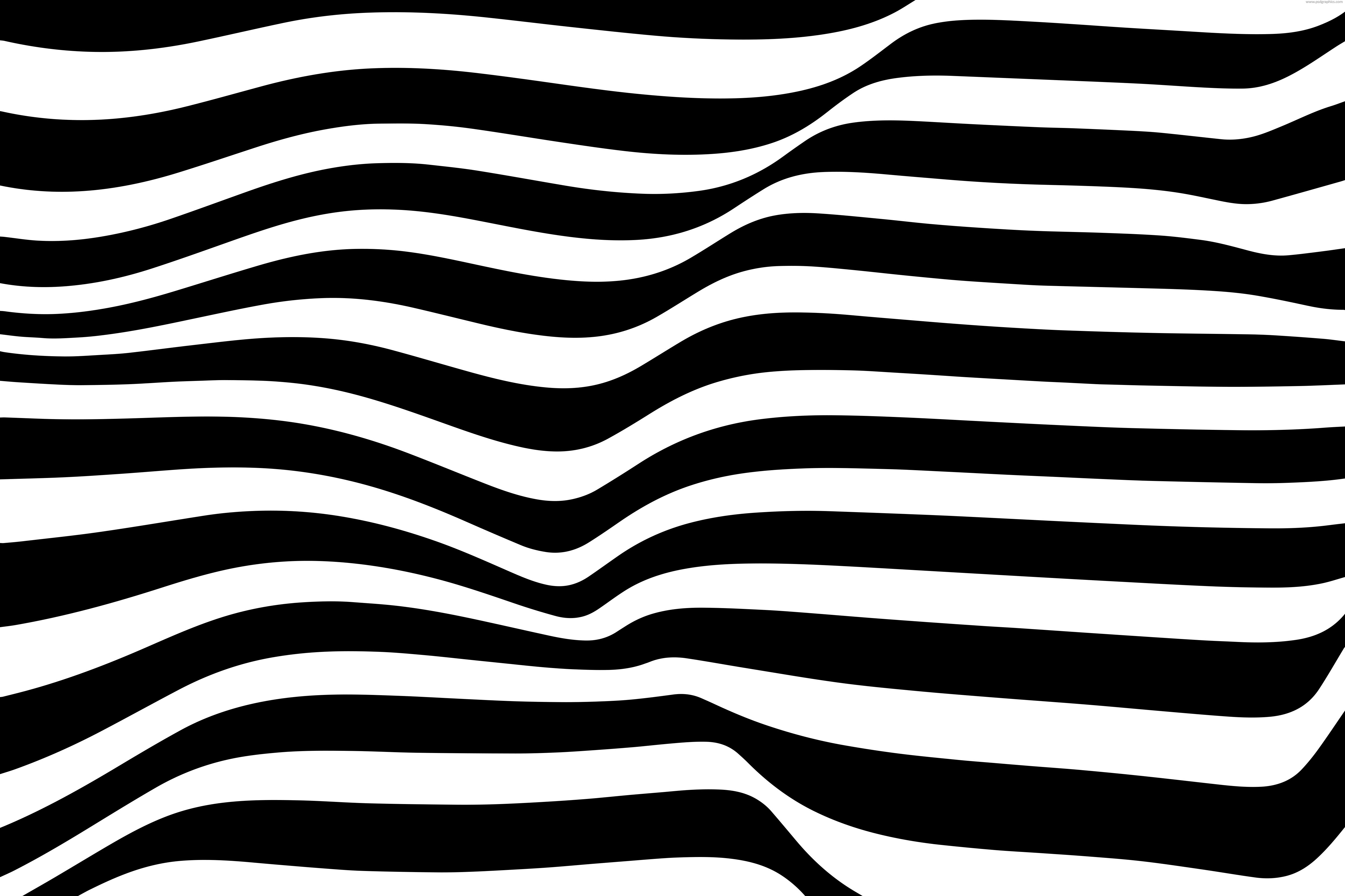 Black and white wavy lines background | PSDGraphics