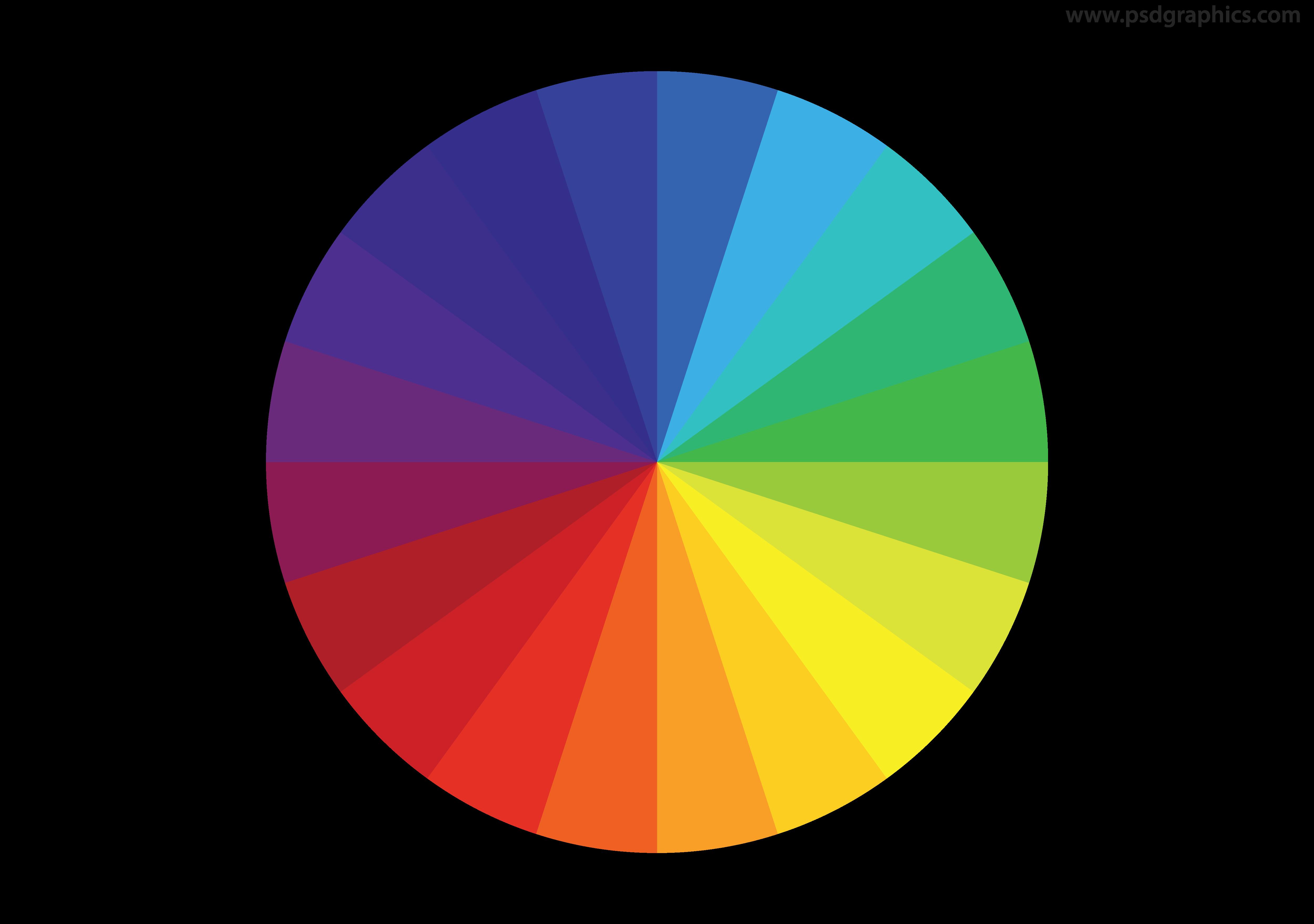 Color Wheel Vector Psdgraphics