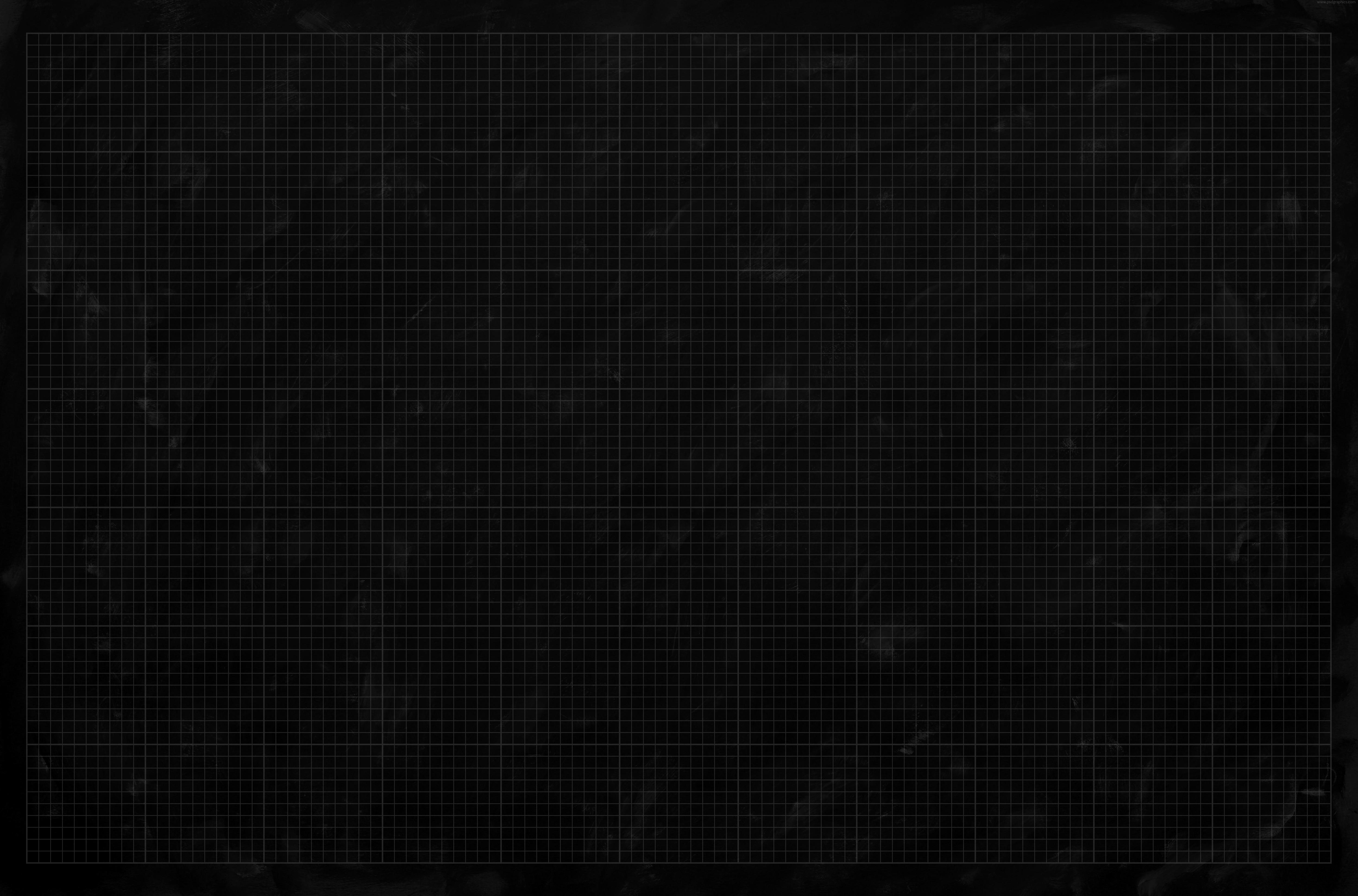 Black Graph Paper Texture