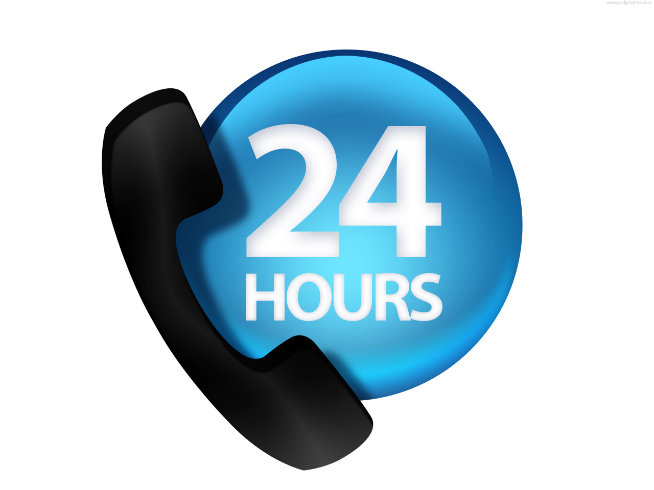 Image result for 24 hours service icon