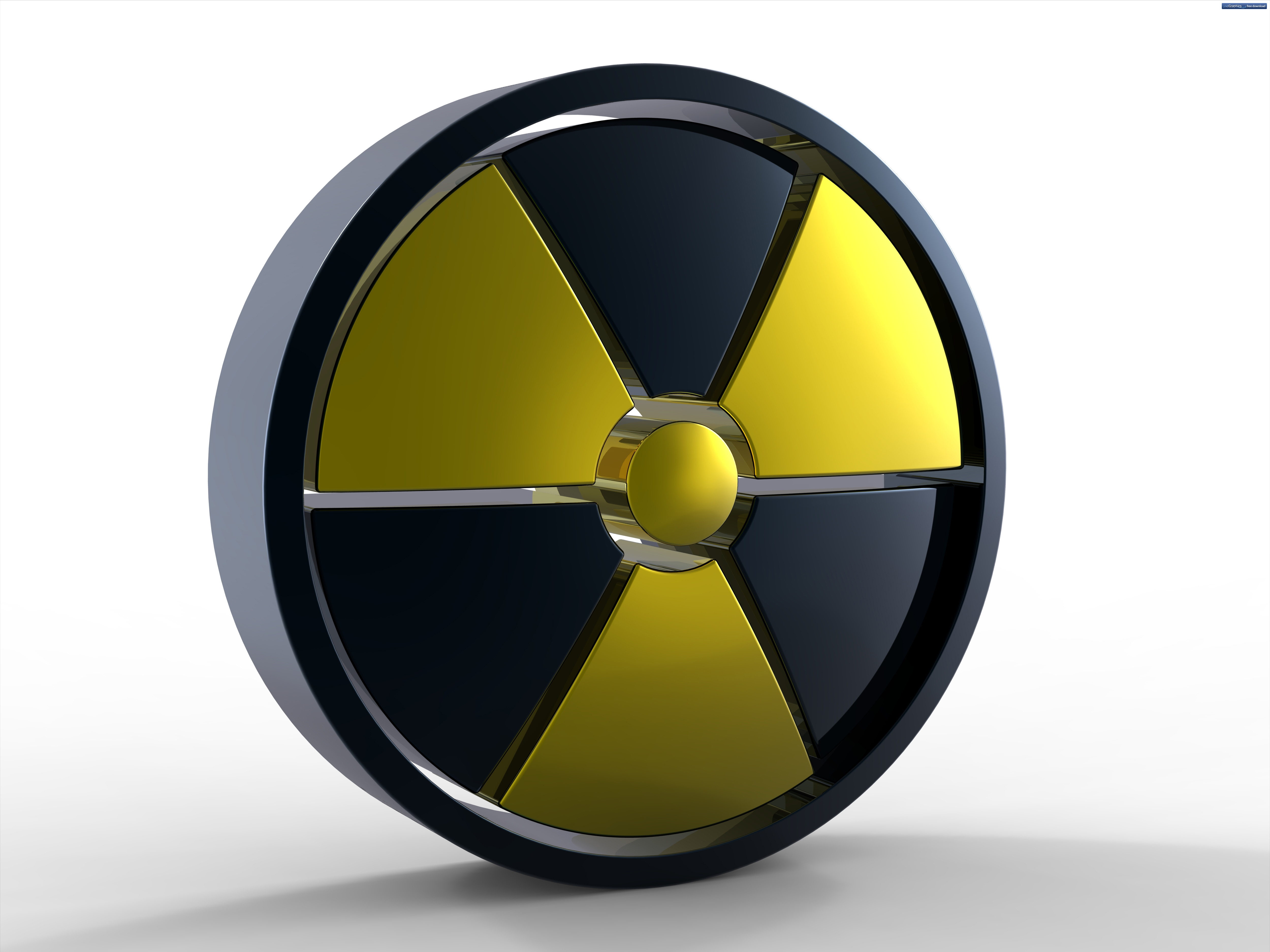 3d nuclear sign psdgraphics 3d nuclear sign radioactive warning symbol biocorpaavc Gallery