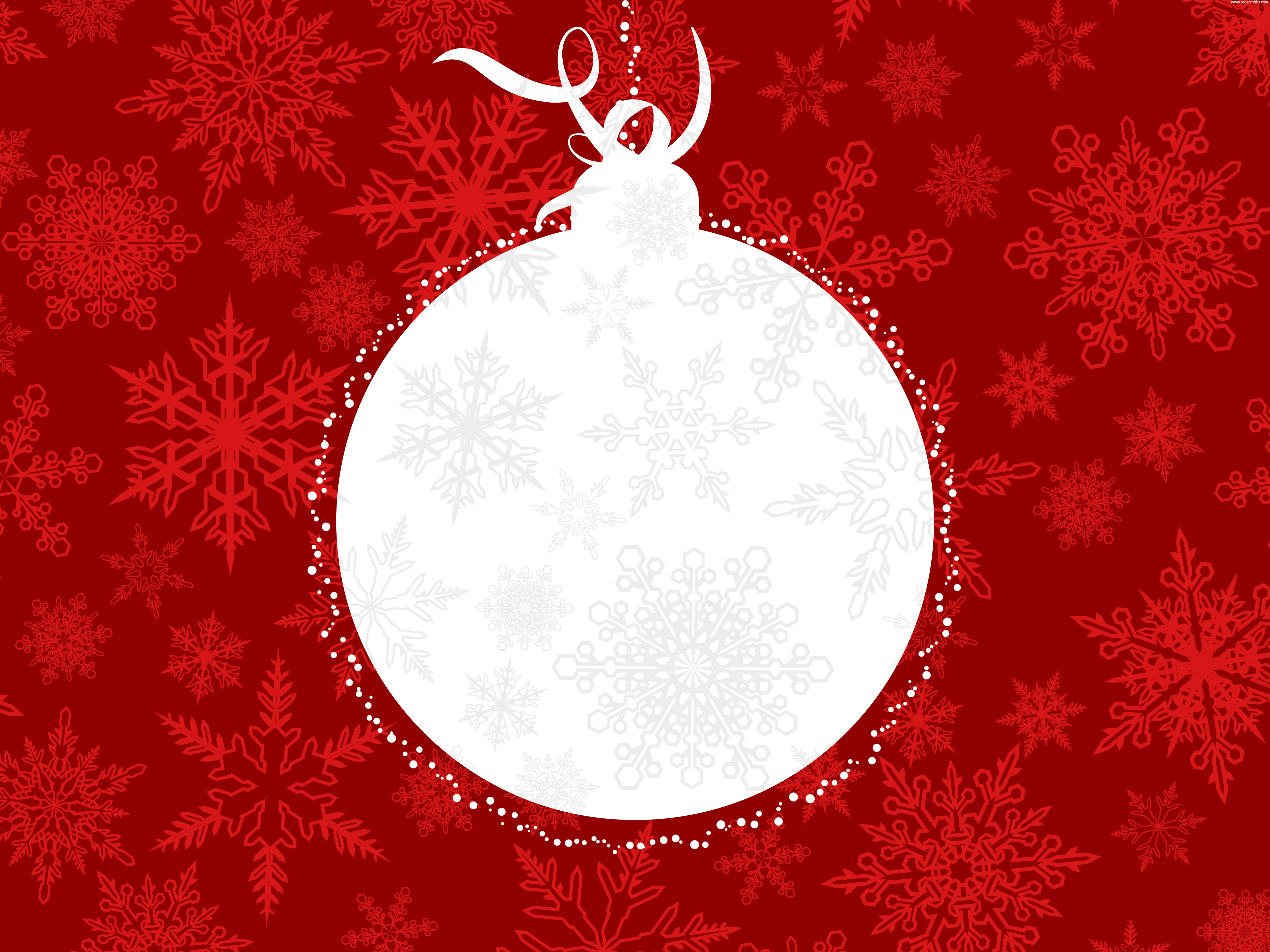 Abstract Christmas ball background | PSDGraphics