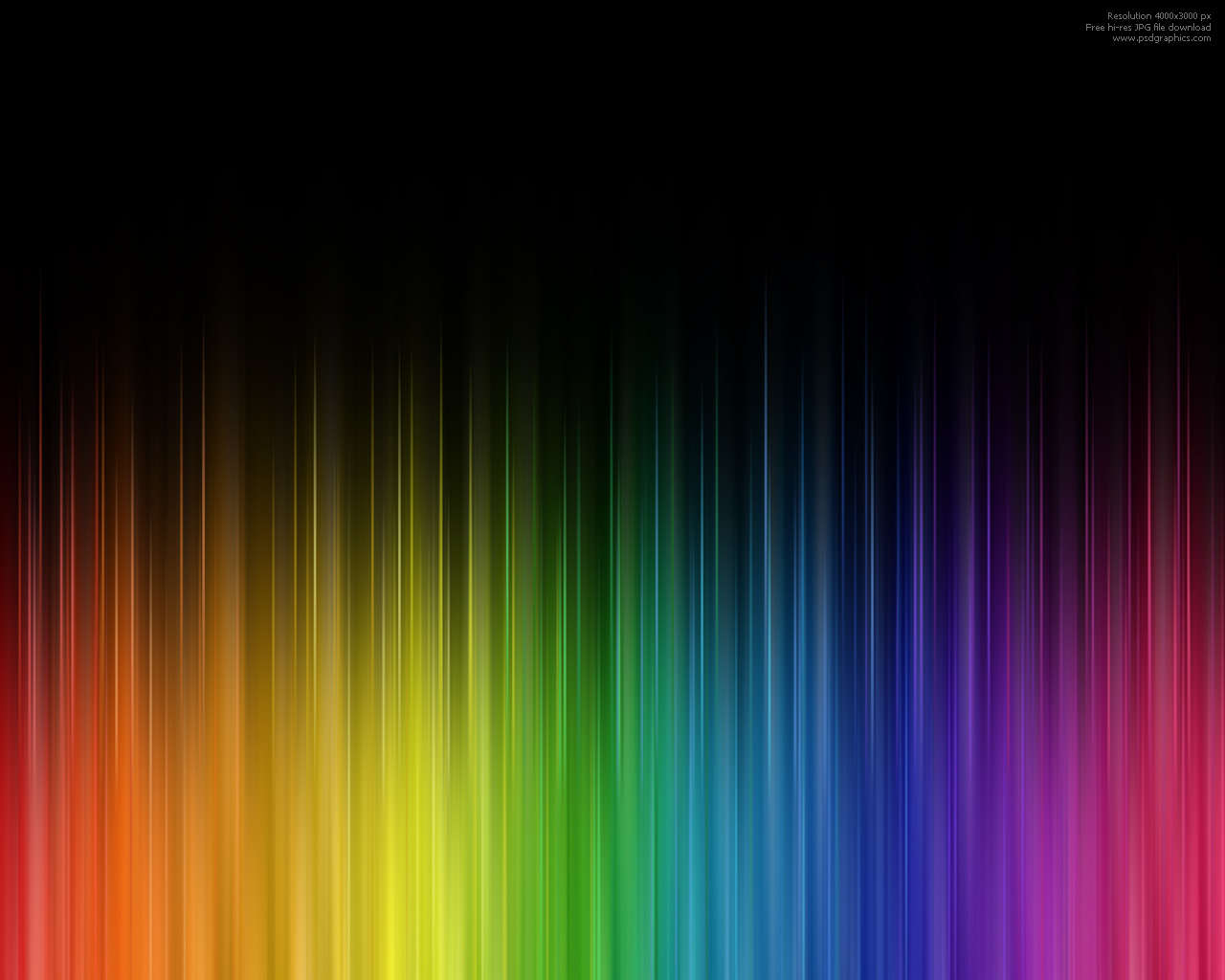 Large preview abstract rainbow colors