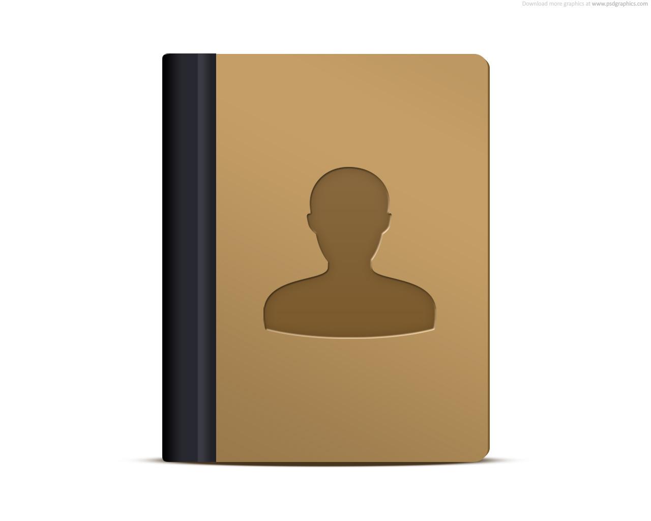 address book icon psdgraphics
