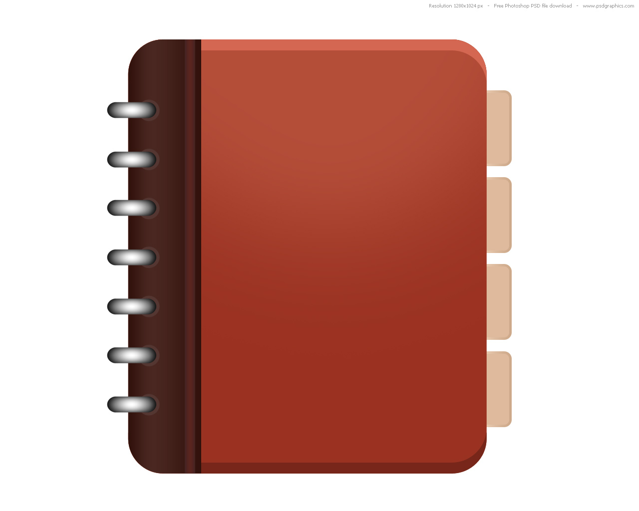 Address Book Icon. Book Cover Templates In Photoshop. View Original ...