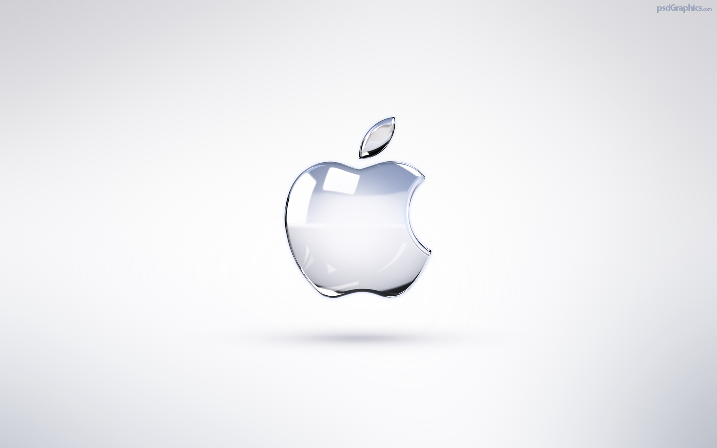Bright Apple Logo Wallpaper Psdgraphics