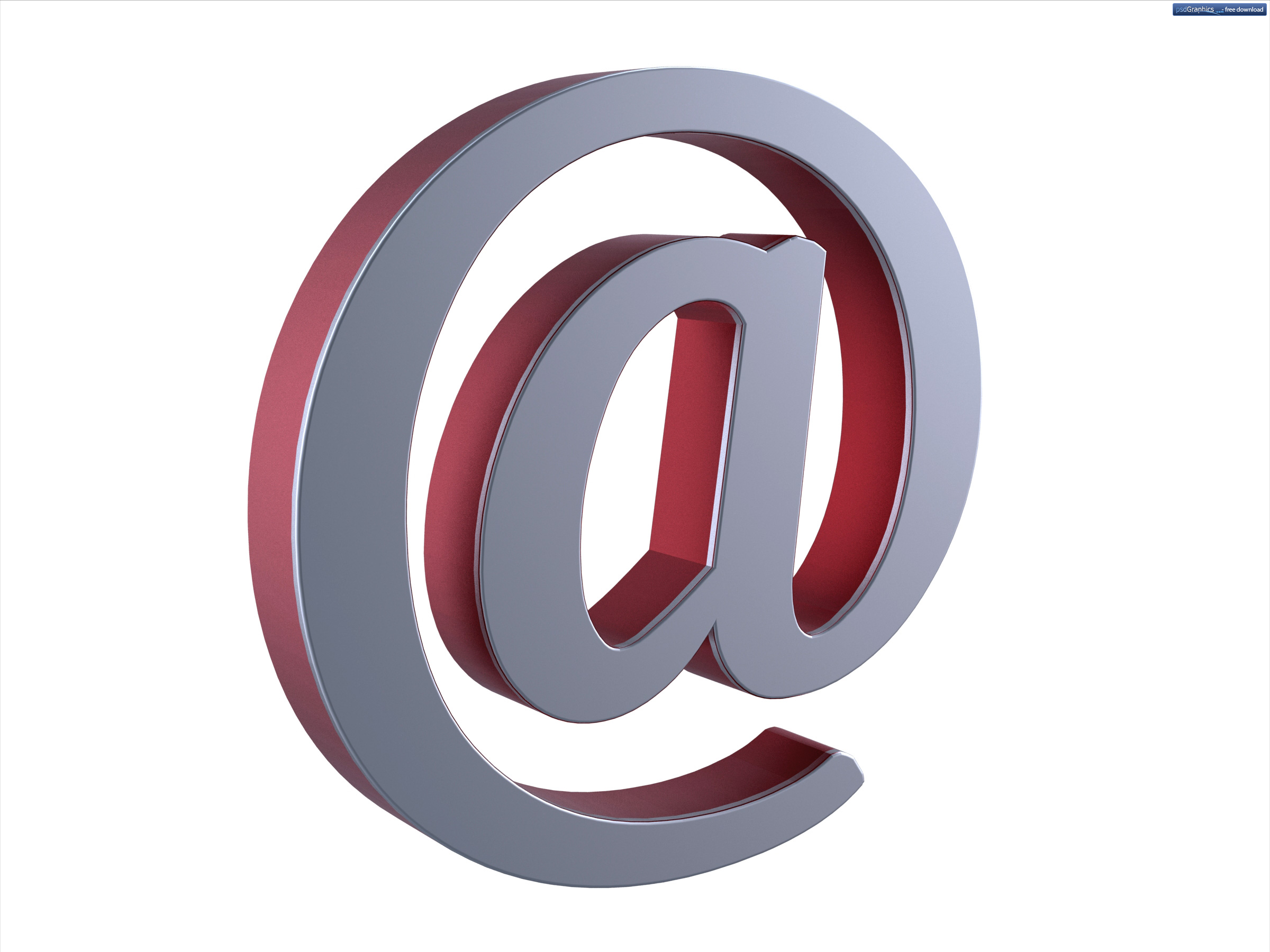 Email At Symbol Psdgraphics