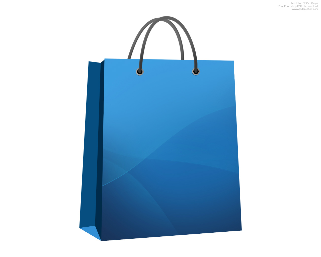Shopping bag icon | PSDGraphics