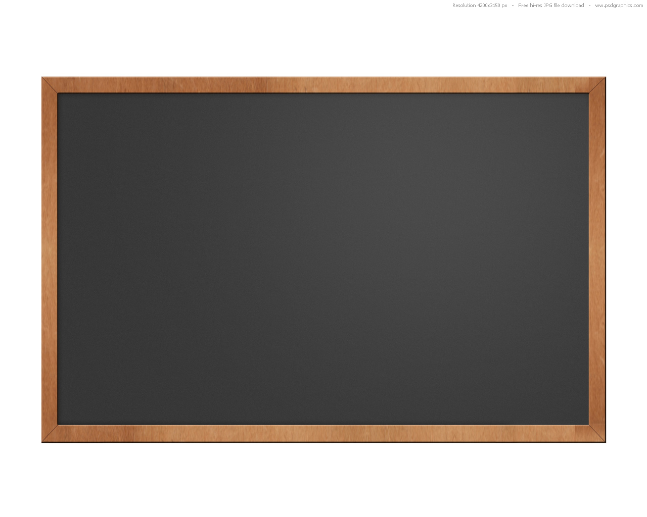 Green and black blackboards (chalkboards) set | PSDGraphics