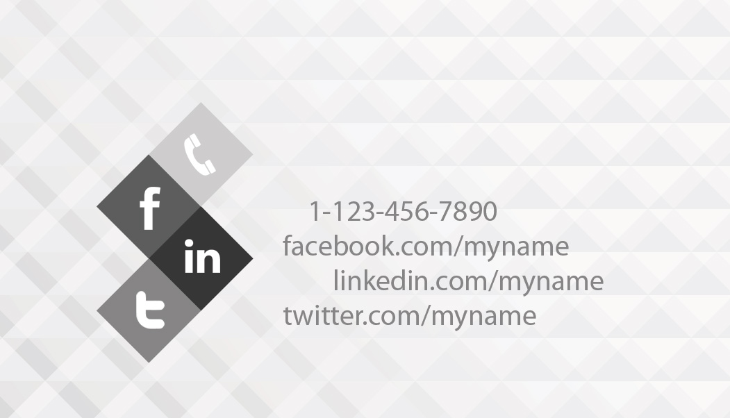 Black and white business card template psdgraphics black and white business card back wajeb