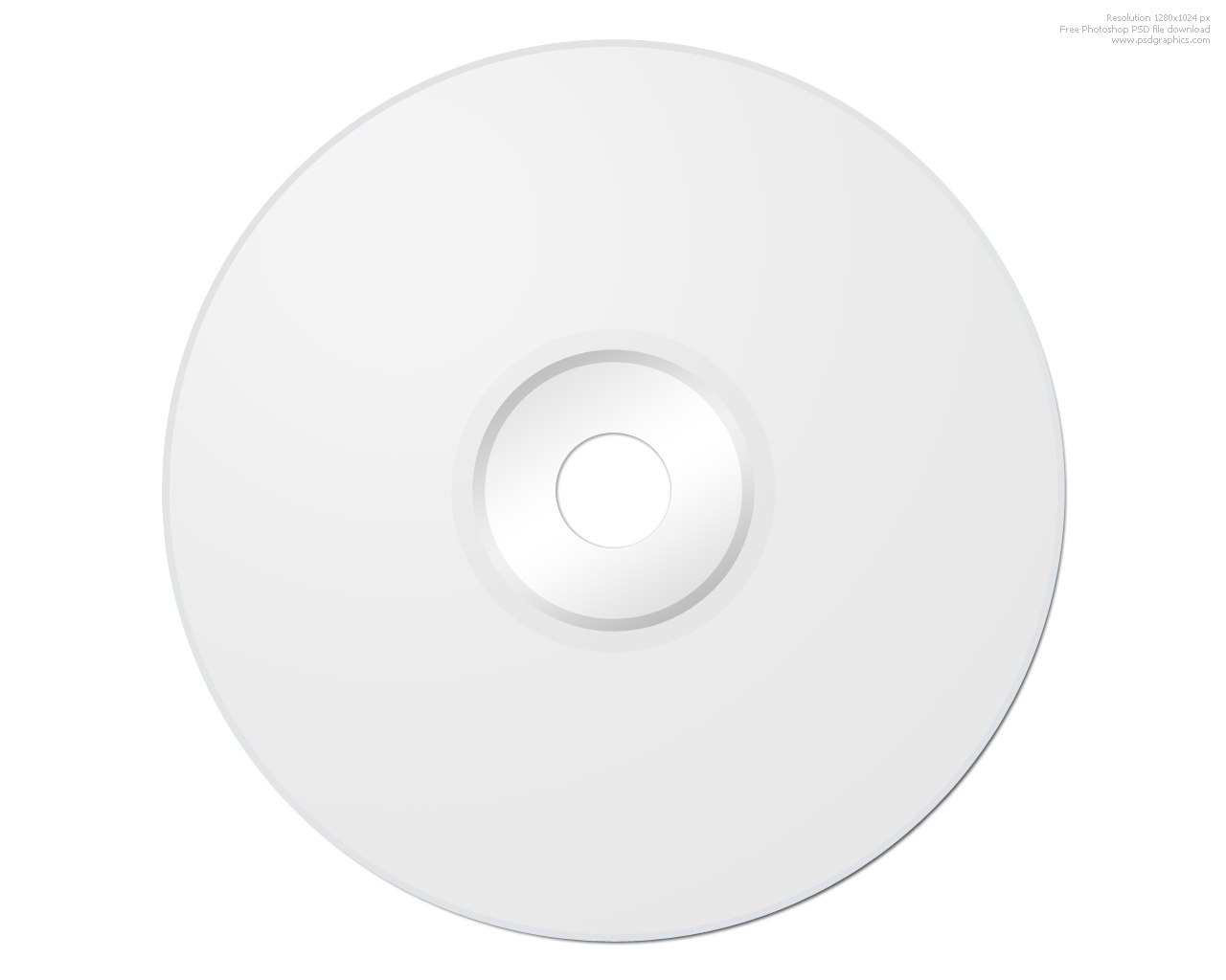 blank cd photoshop template psdgraphics