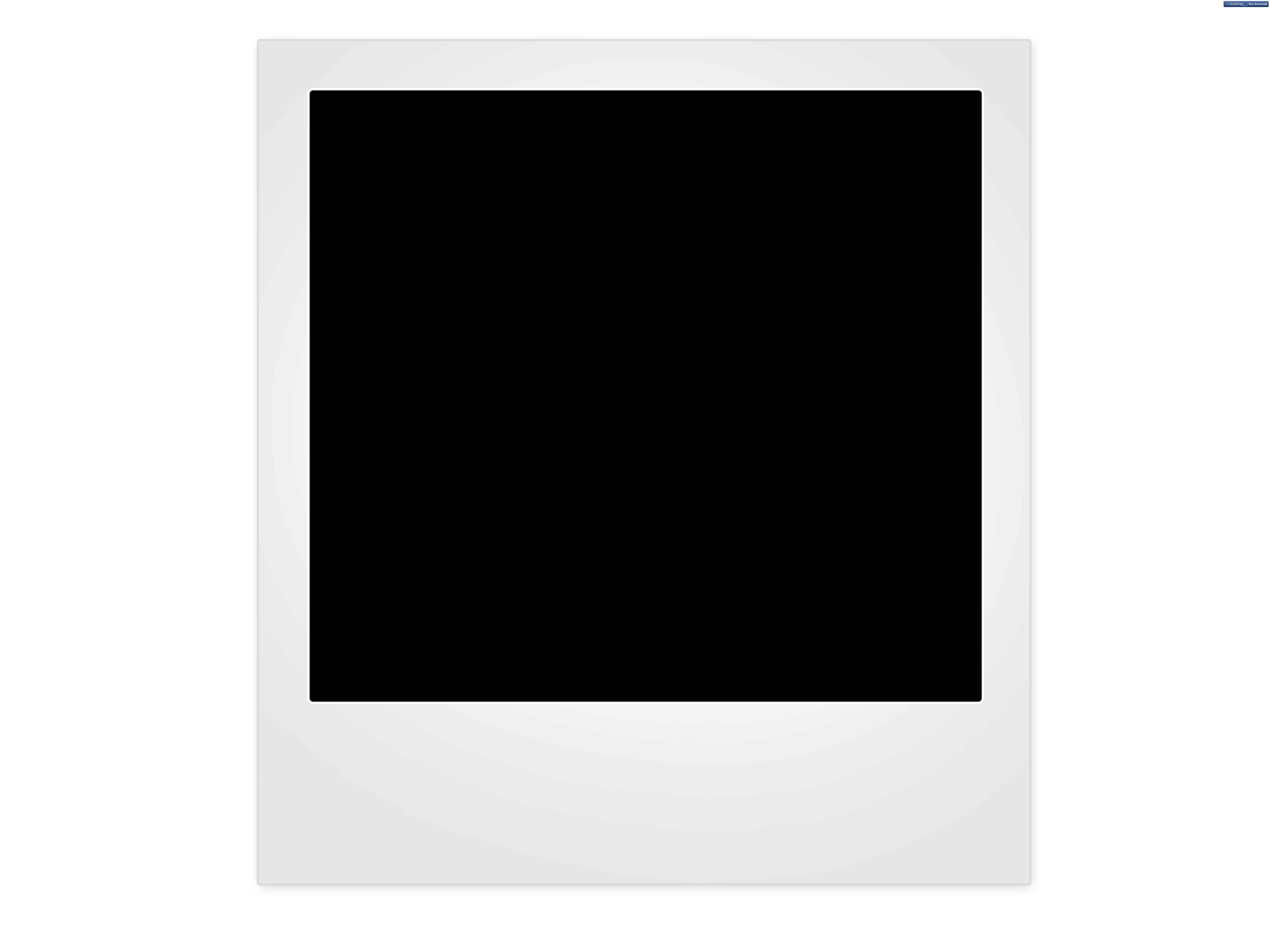 Blank polaroid frame background