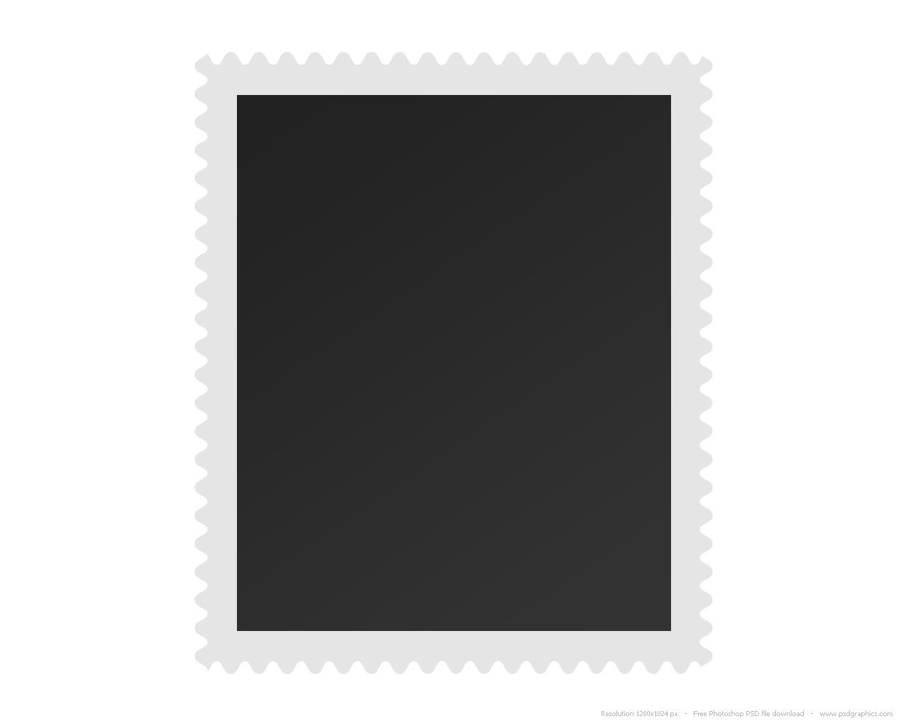 blank postage stamp psdgraphics. Black Bedroom Furniture Sets. Home Design Ideas