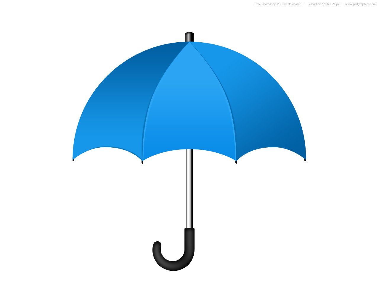 PSD umbrella icon  PSDGraphics