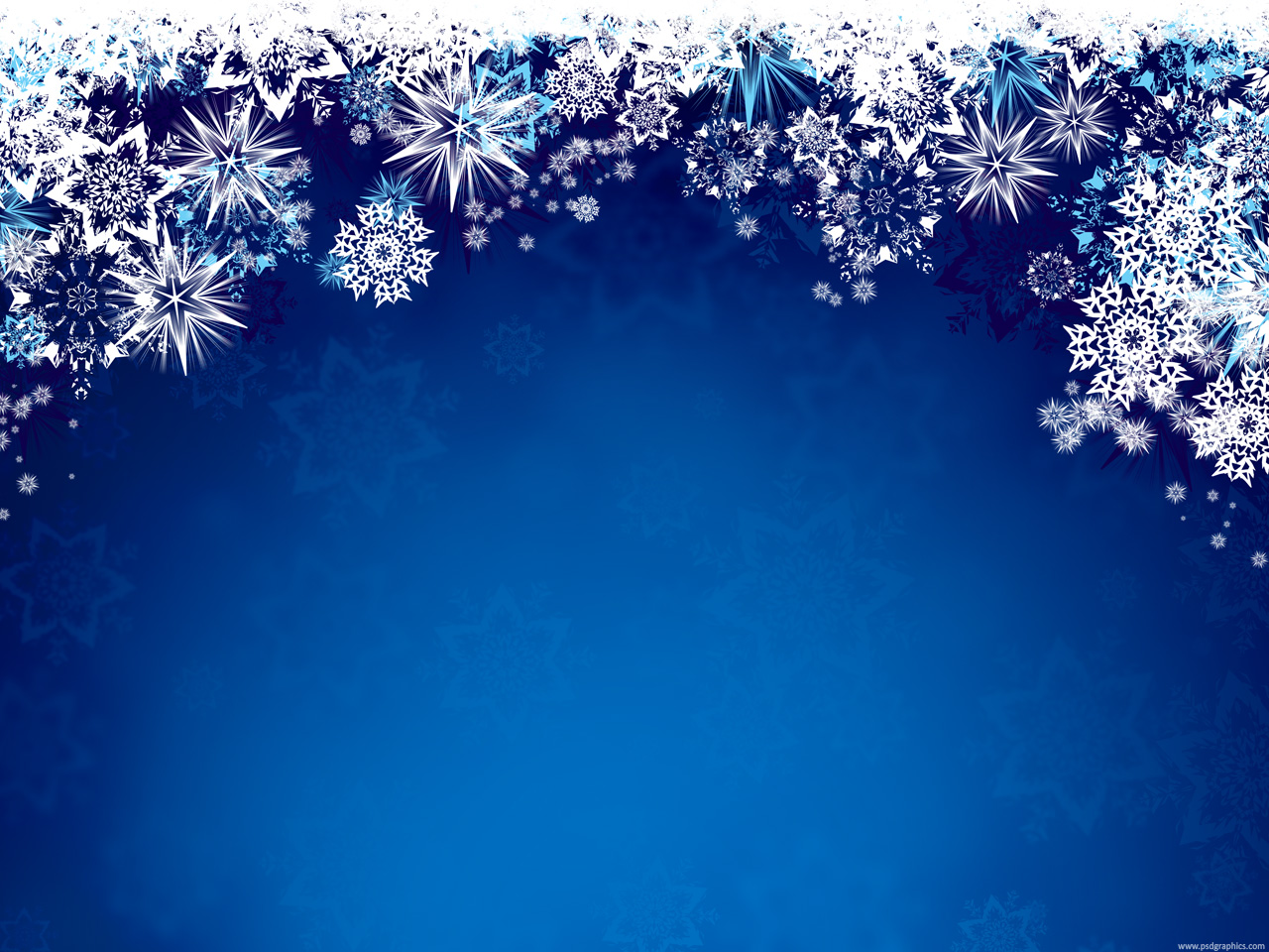 Winter Wallpaper Templates Medium size preview x px Blue winter background