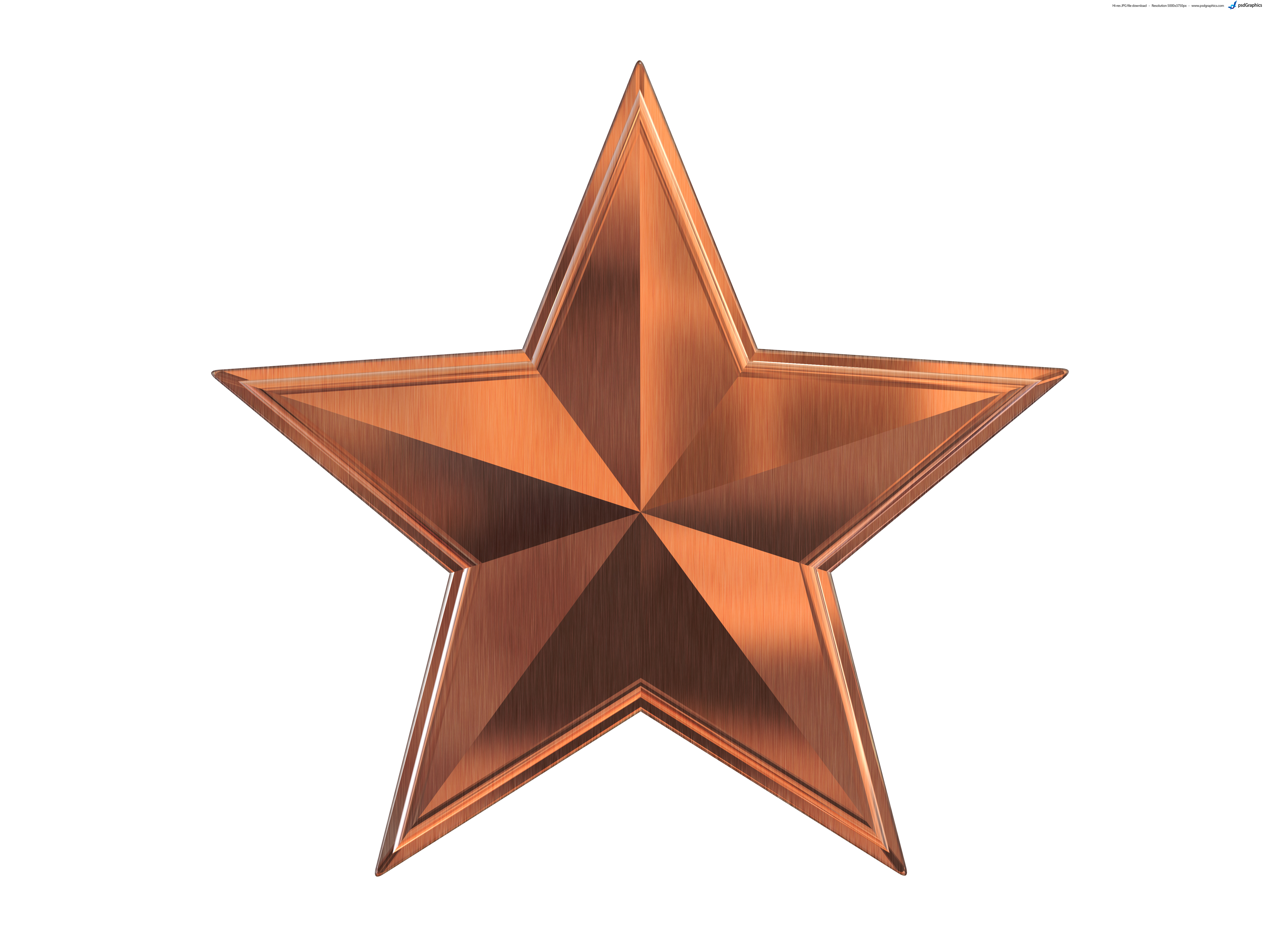 gold silver and bronze metal stars psdgraphics rh psdgraphics com Gold Silver Metal Clip Art Treasure Clip Art