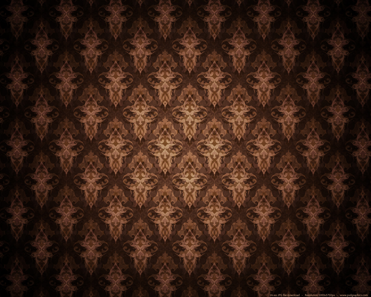 Medium size preview 1280x1024px brown antique background