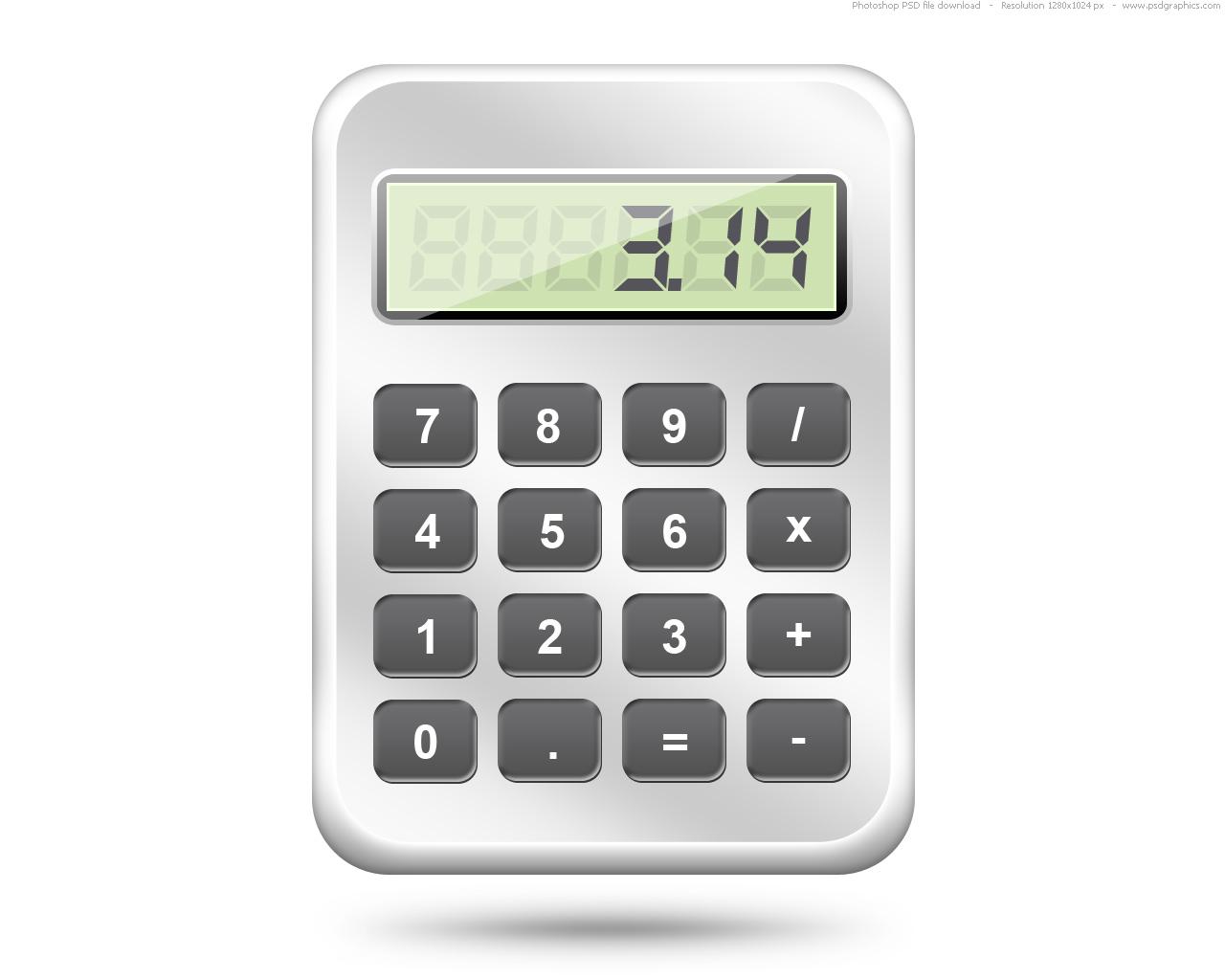 Psd calculator web icon