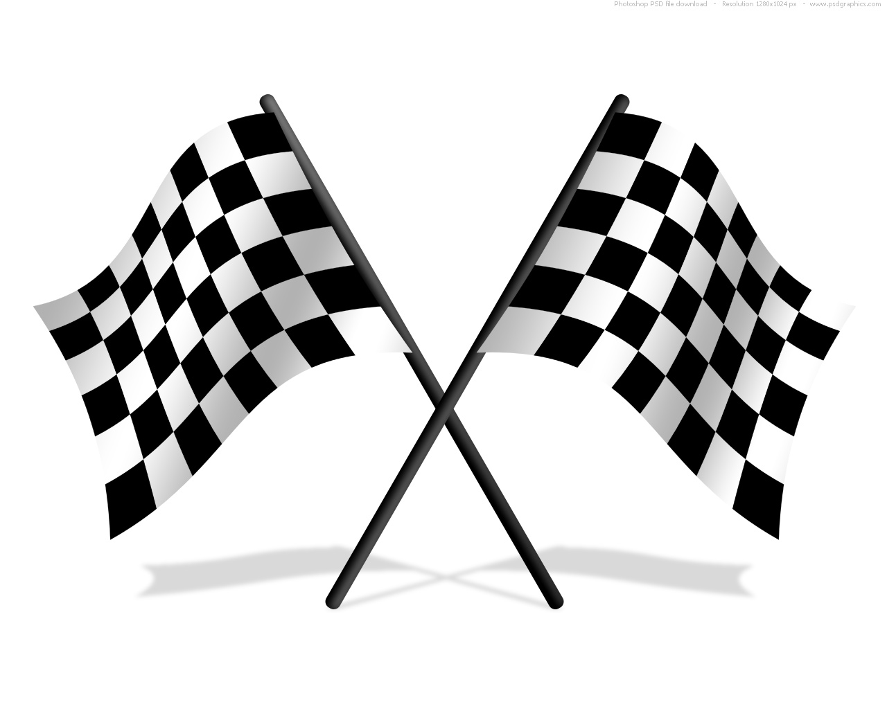Car Racing Checkered Flag Clip  Race Track Wallpaper Clipart