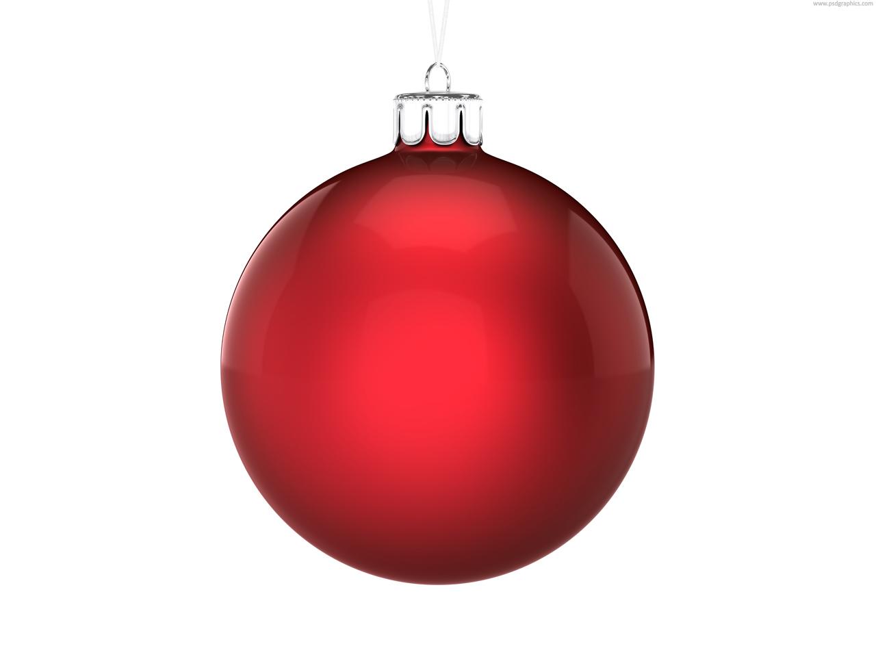 christmas ball psdgraphics