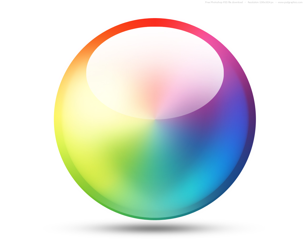 Psd color wheel icon psdgraphics wheel icon thecheapjerseys Gallery