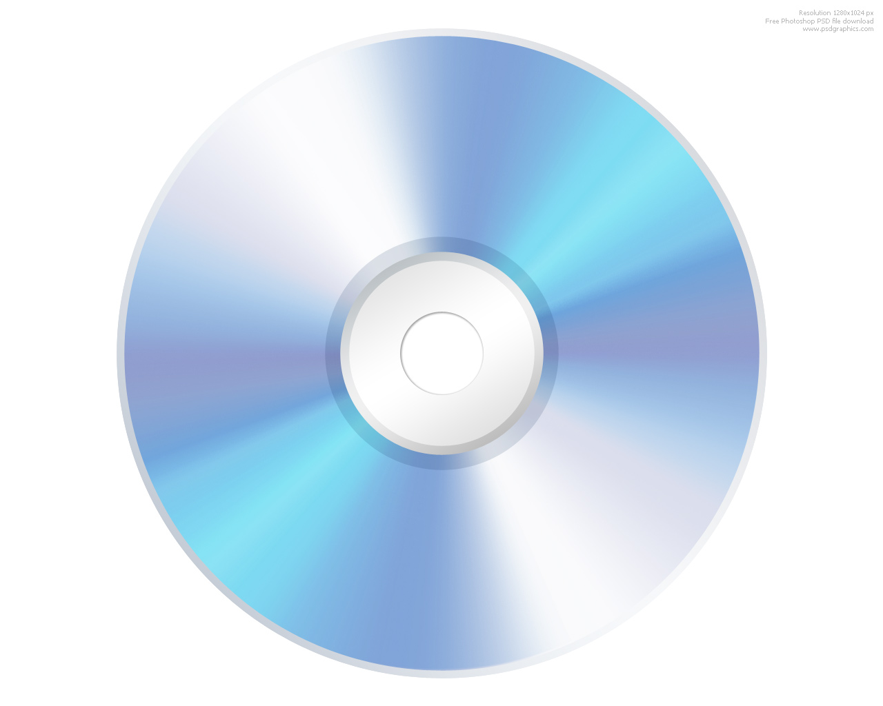 PSD compact disc CD icon | PSDGraphics