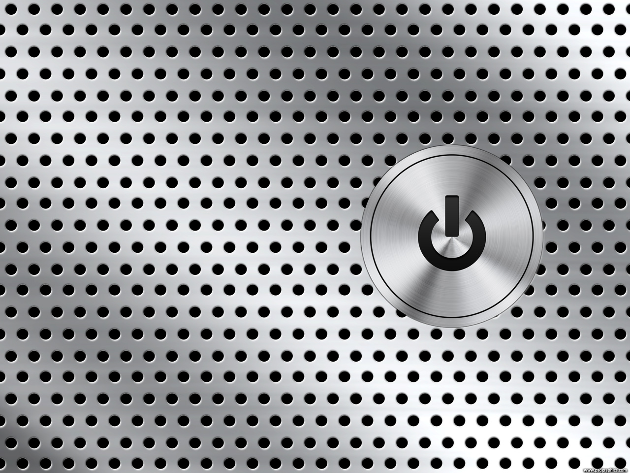 Medium size preview 1280x960px computer power button background