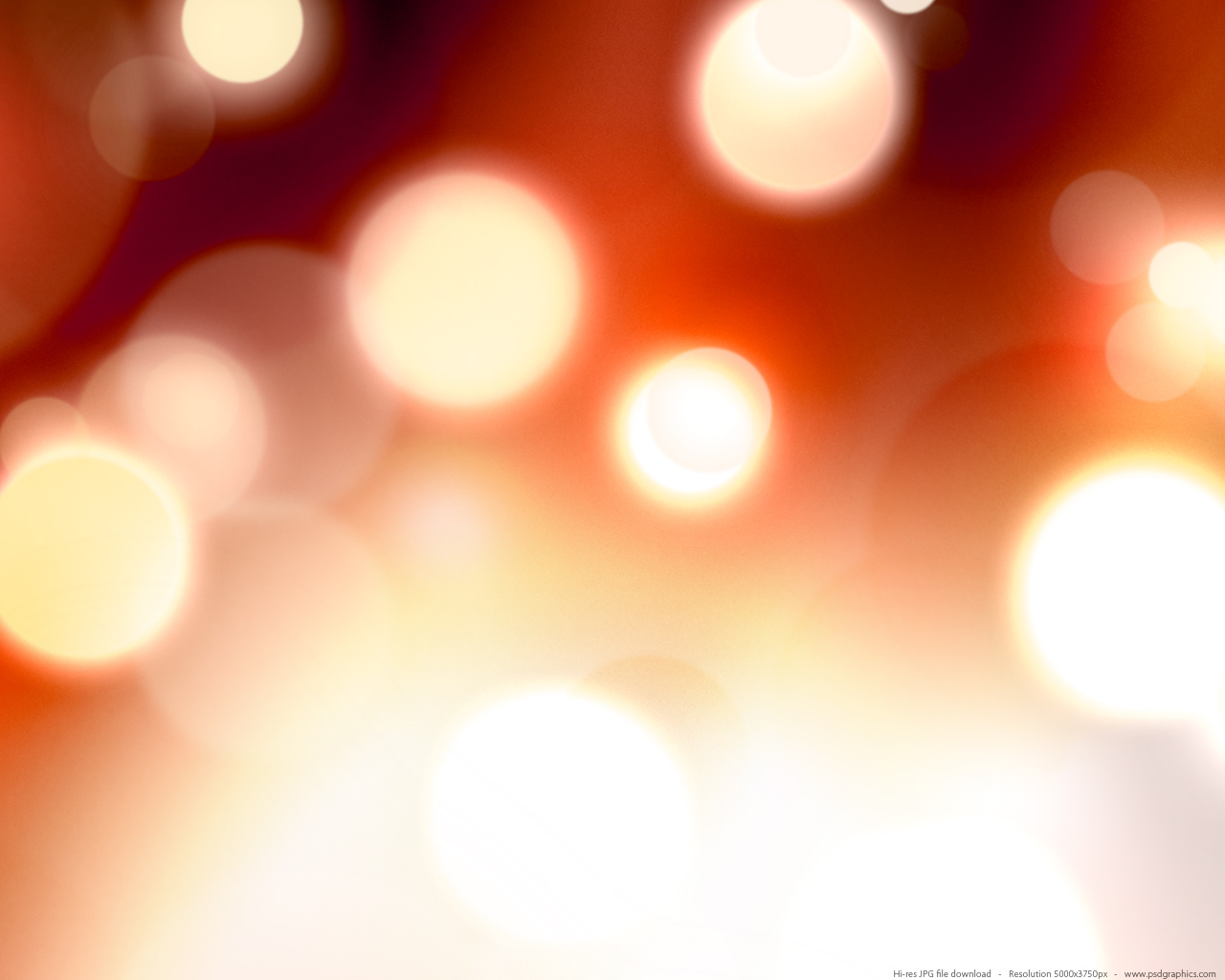Defocused fire lights background | PSDGraphics