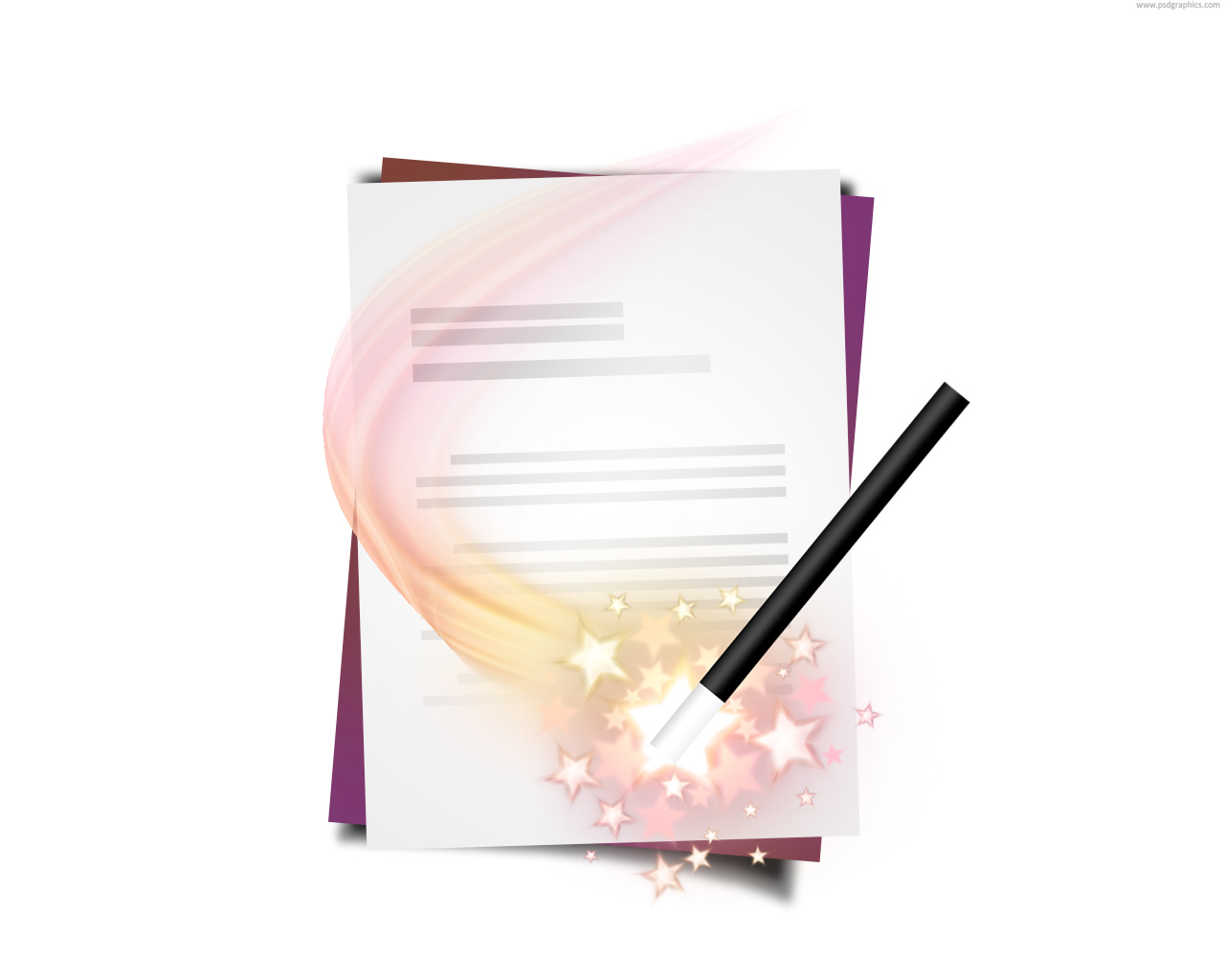 Document wizard icon (PSD) | PSDGraphics: www.psdgraphics.com/psd/document-wizard-icon-psd