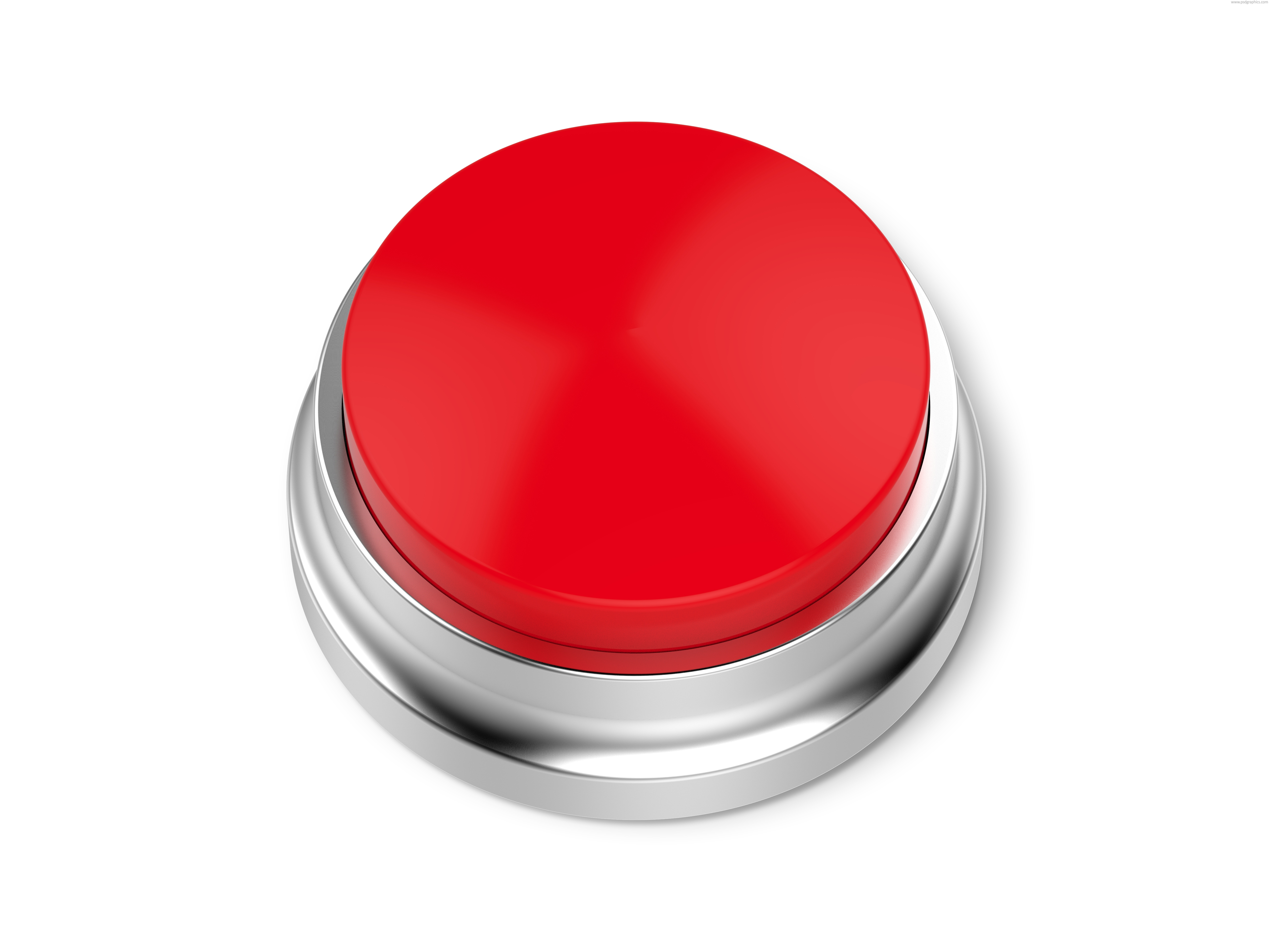 Red emergency button  ...