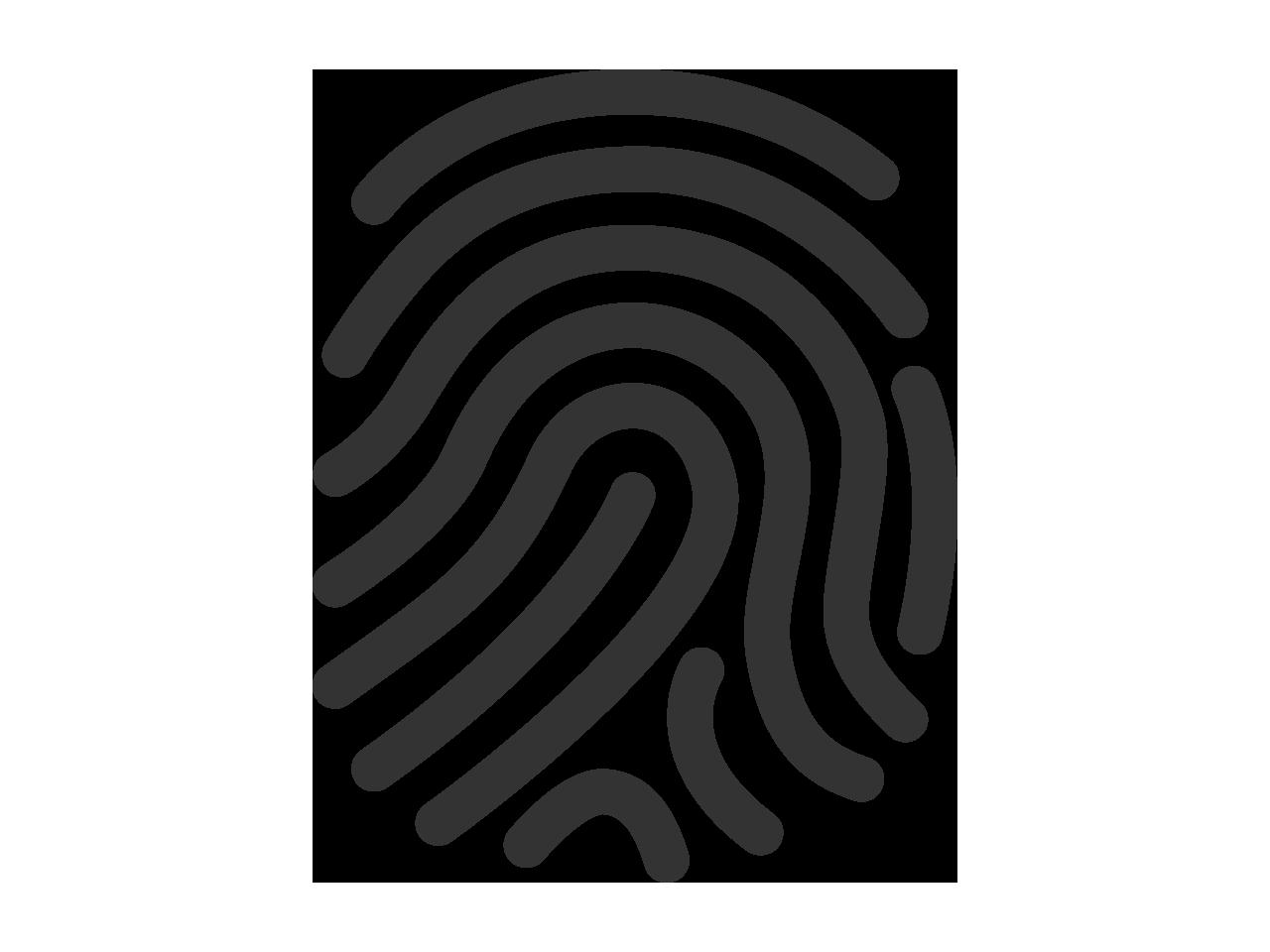 Fingerprint icon (PSD) | PSDGraphics