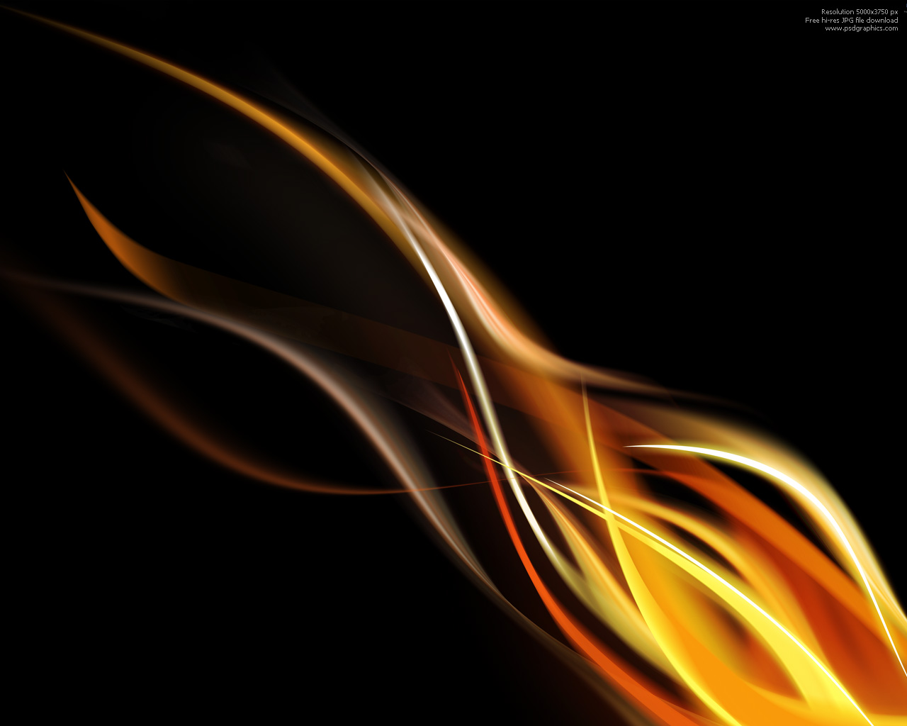 Flame background 1280×1024