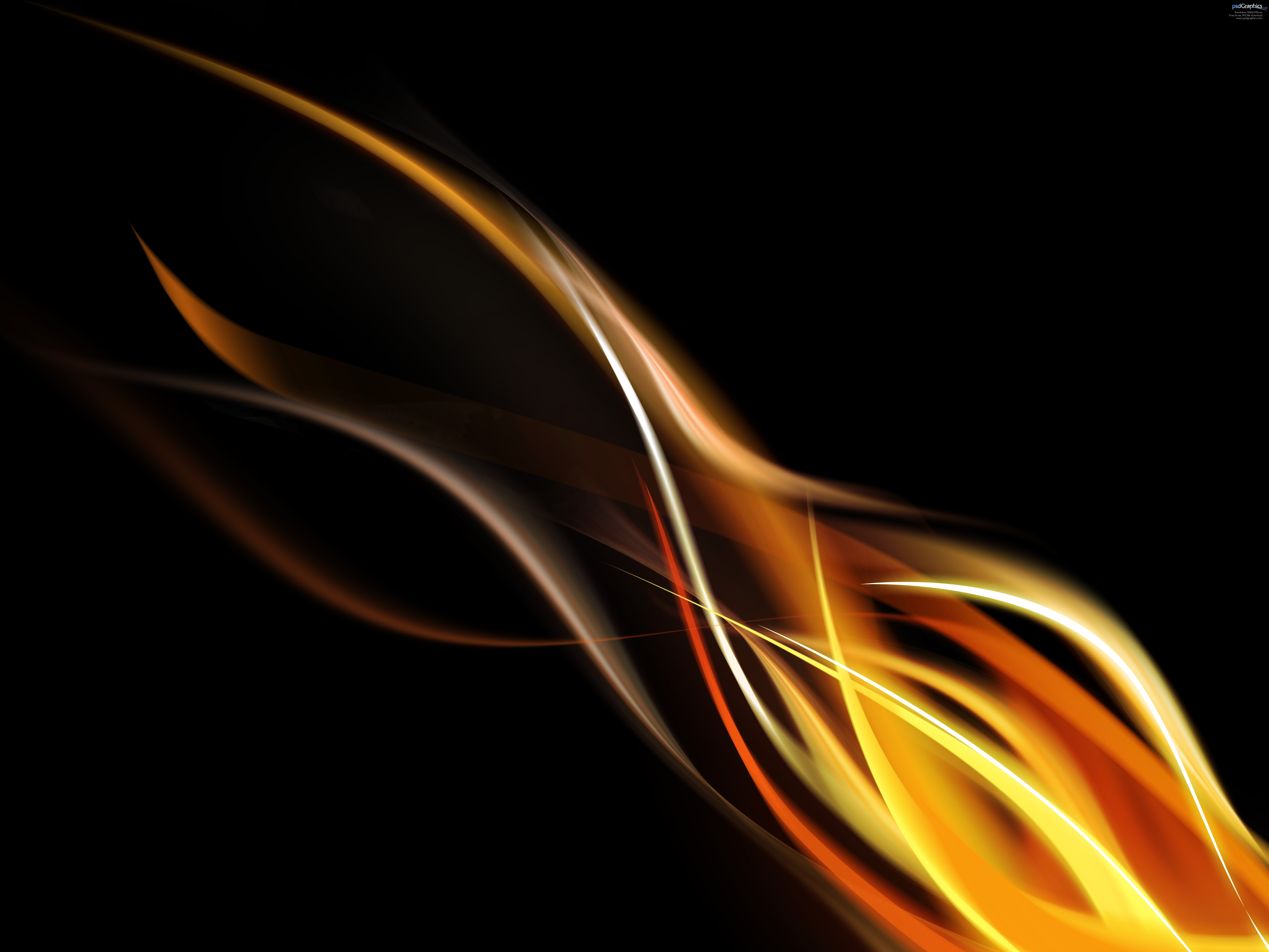 Photoshop flame background