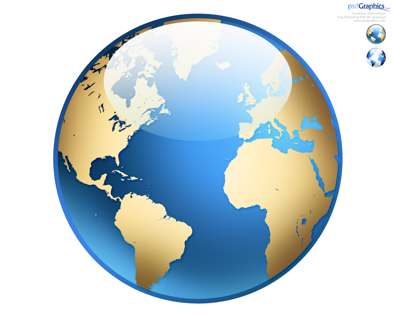 Photoshop world globe icon psdgraphics globe icon gumiabroncs Image collections