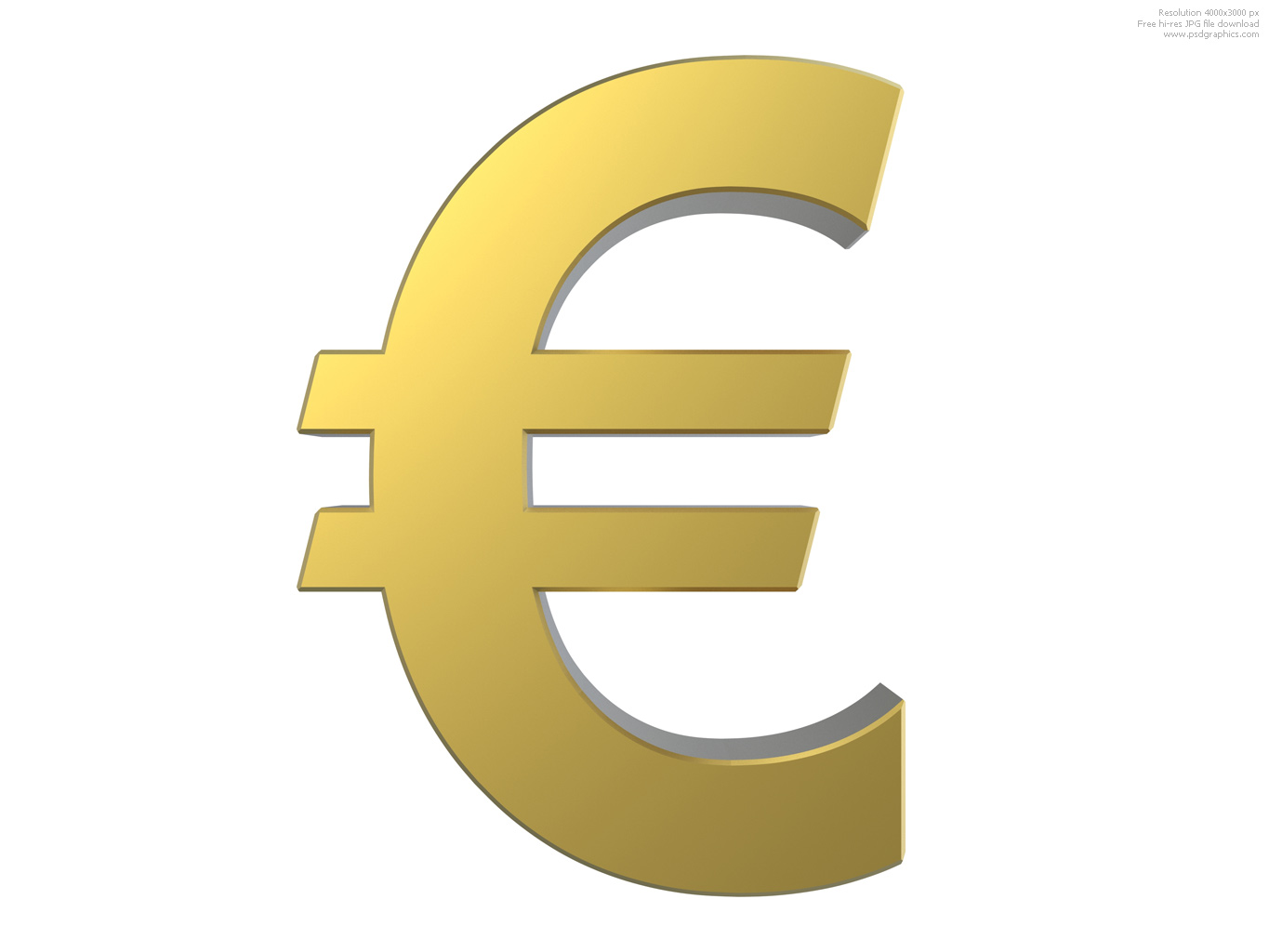 europe money sign