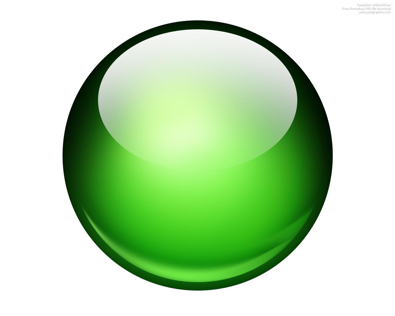 Glossy ball Photoshop icon   PSDGraphics