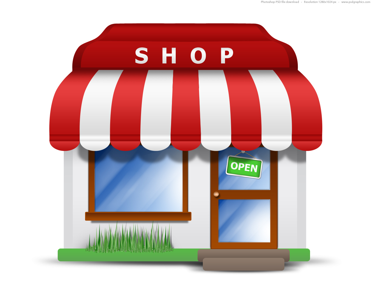 Full size JPG preview: Market store icon