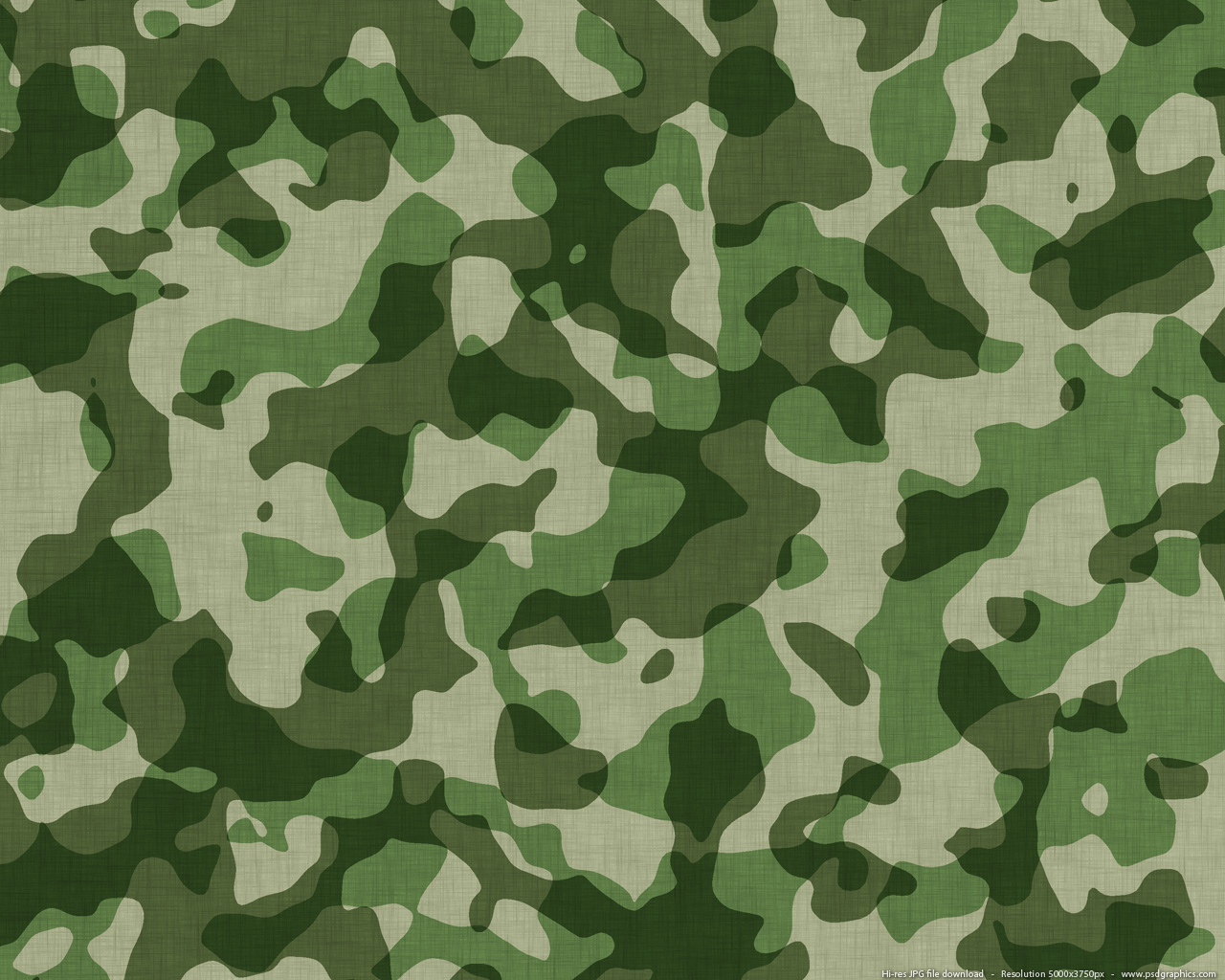 Military camouflage pattern, fabric texture created in Photoshop.