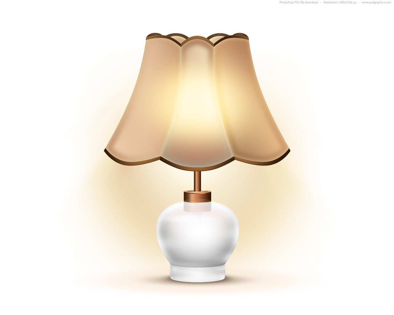 Old Table Lamp Icon Psd Psdgraphics Wire Diagram Full Size Preview