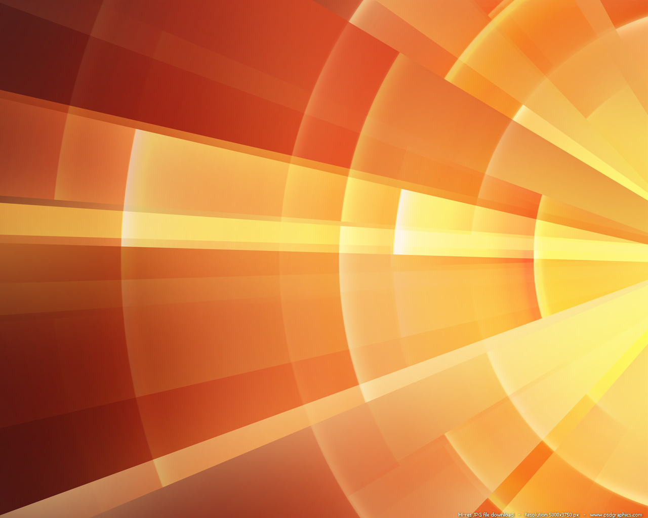Medium size preview (1280x1024px): orange rings background