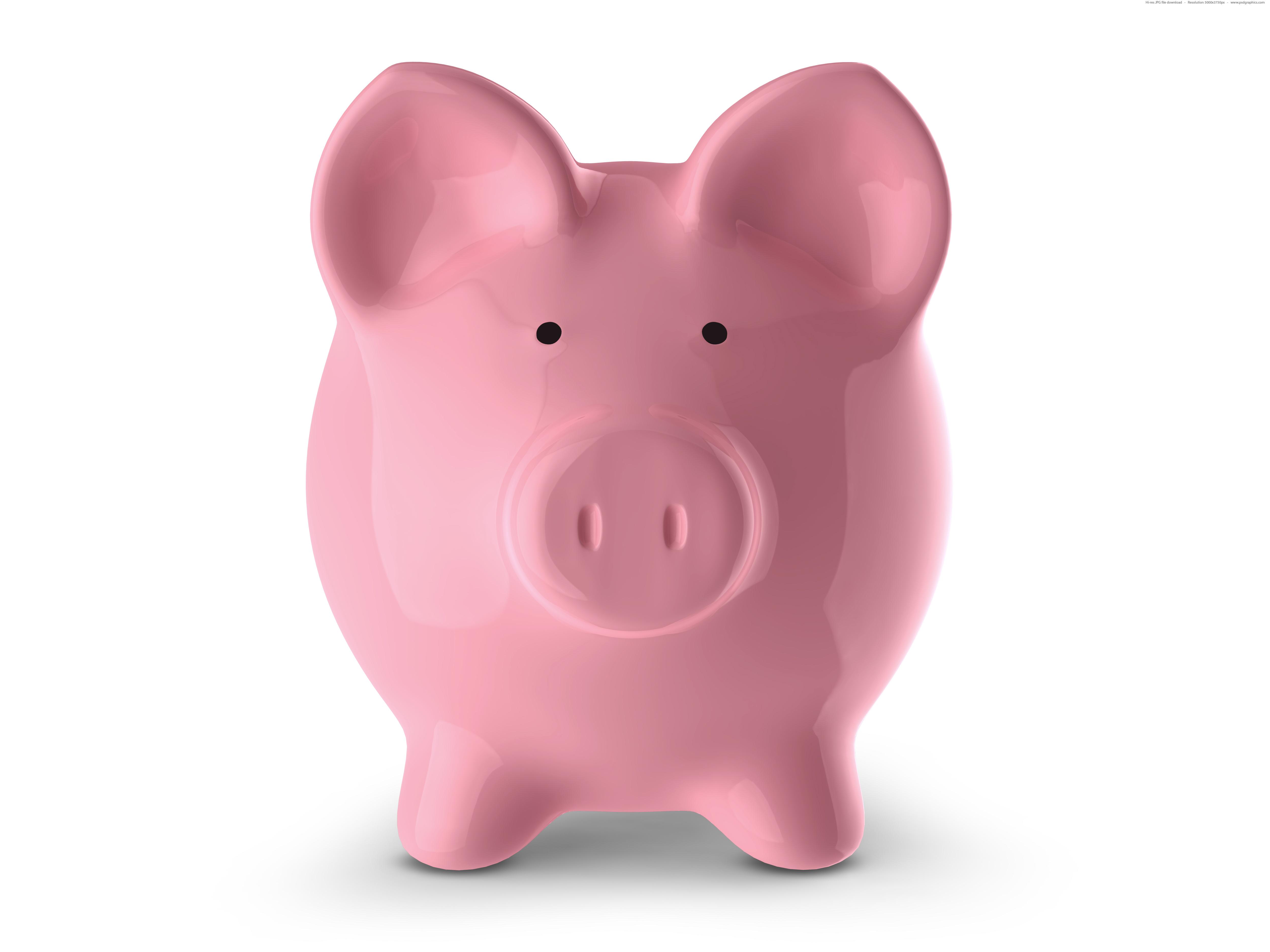 Piggy Bank   Inspiration: Saving money. Piggy bank. Cost of