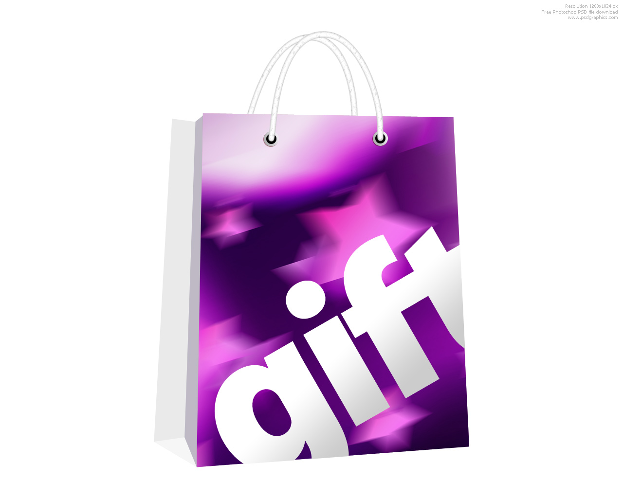 Present Icon Psd Shopping Bag Psd Gift icon