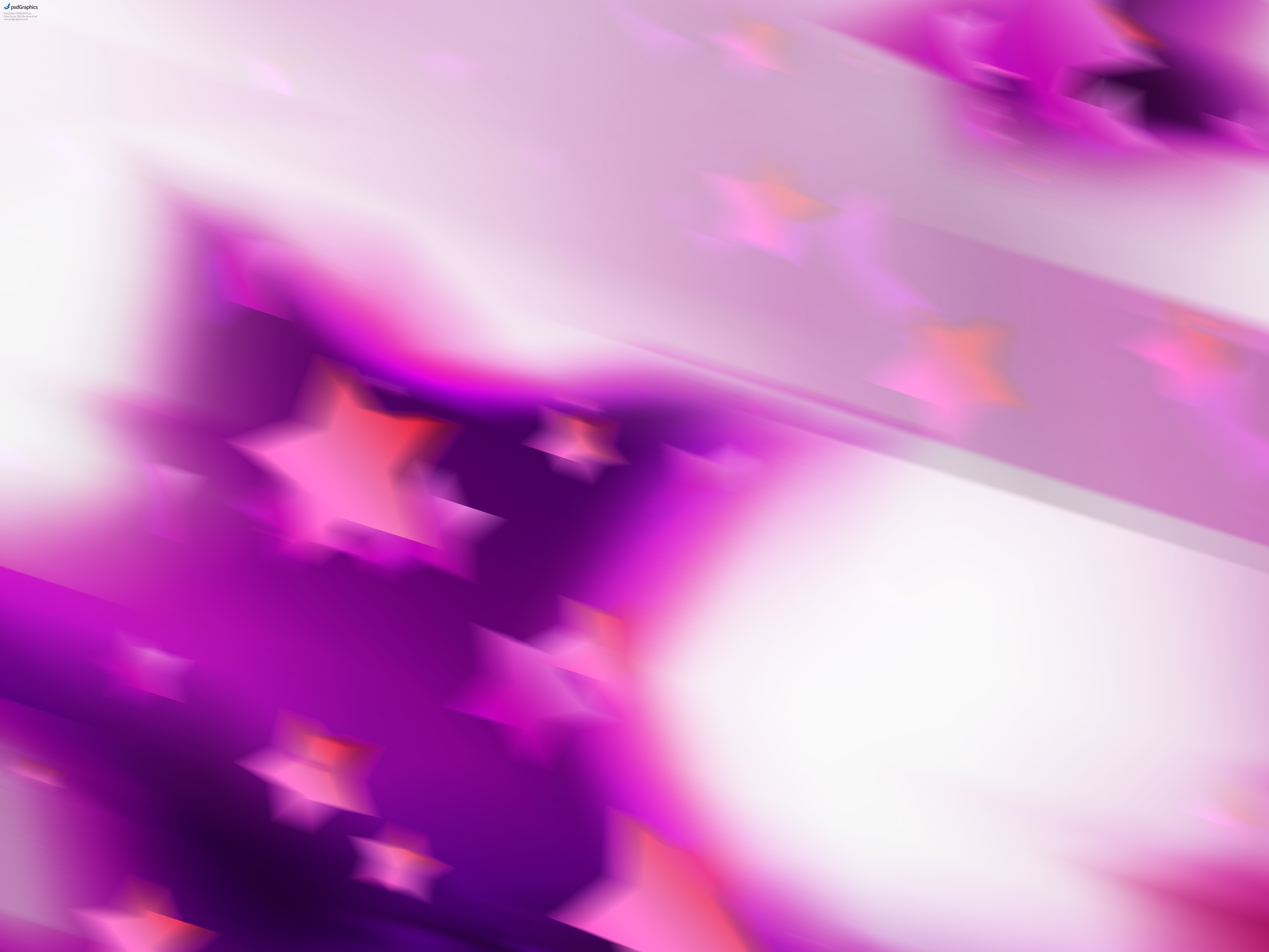 Abstract Pink Stars Background Psdgraphics