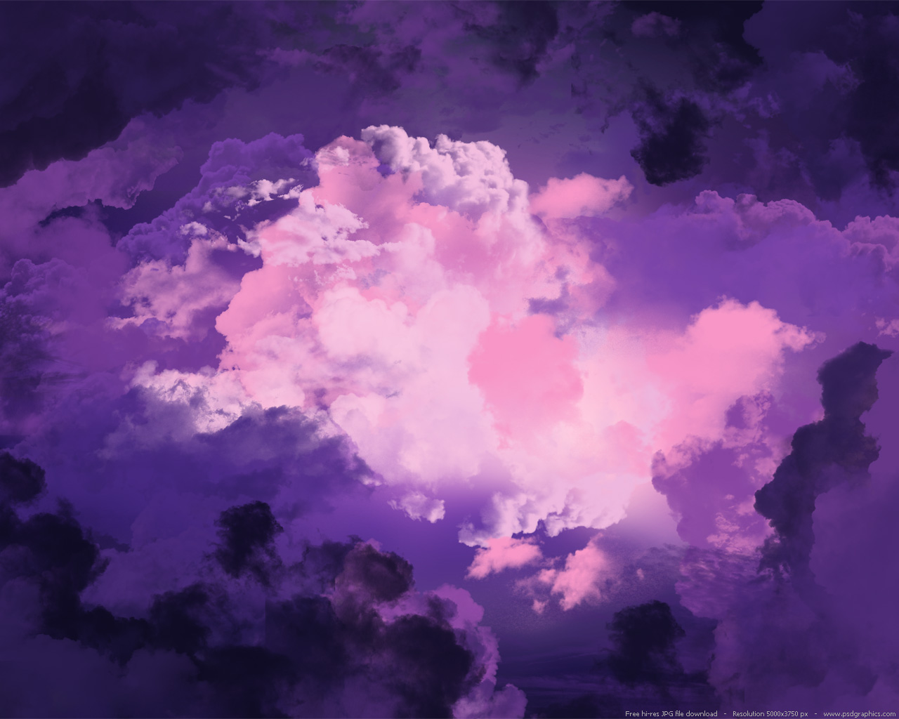 Two magical purple sky backgrounds psdgraphics - Dreaming of the color white ...