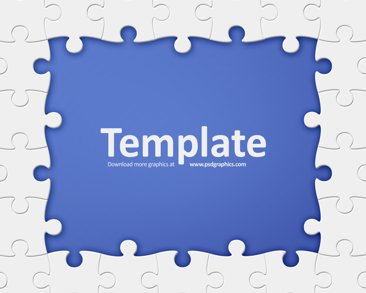 medium size preview 1280x1024px puzzle frame template