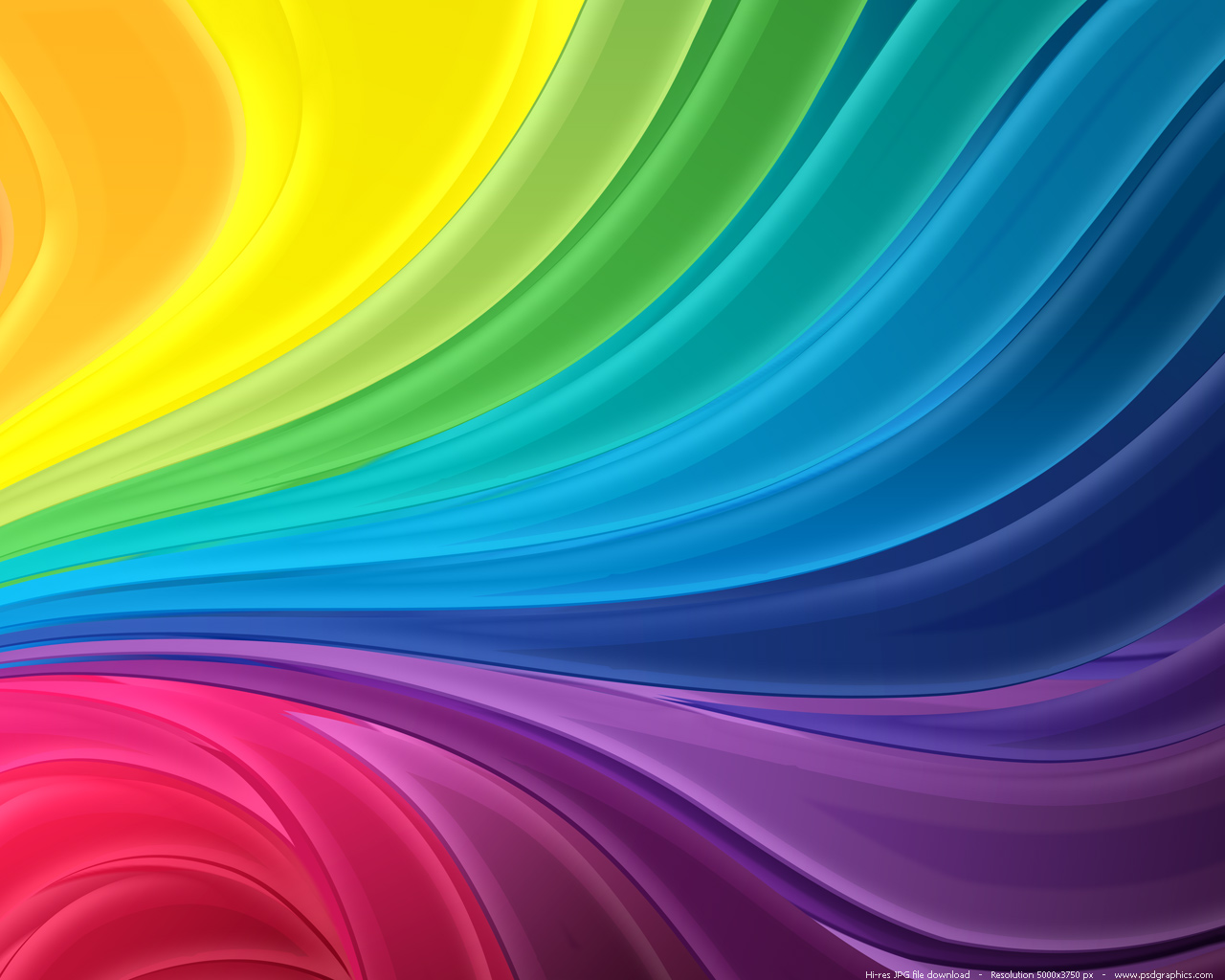 Large preview 1280x1024px rainbow flow