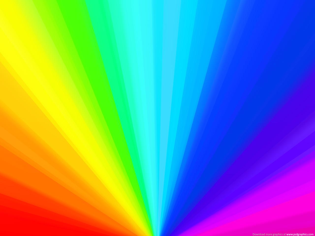 Rainbow wheel background   PSDGraphics